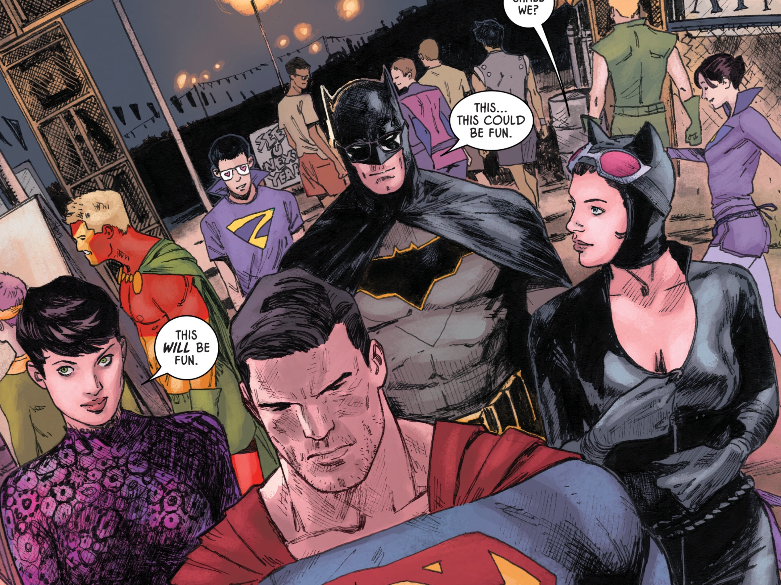 Batman and Superman's costume-swap double date is the best comic book story of the week