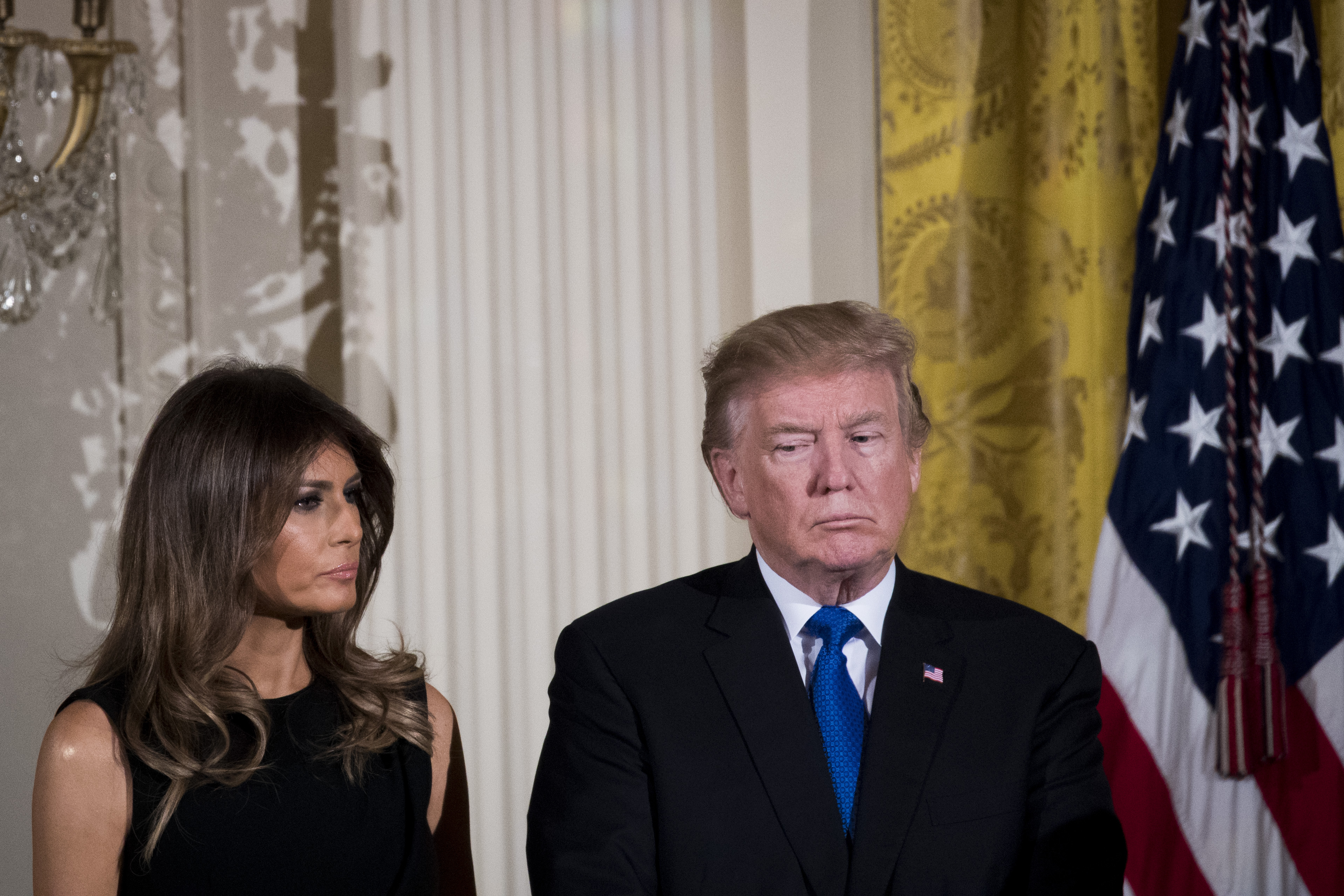President And Mrs Trump Host Hanukkah Reception At The White House