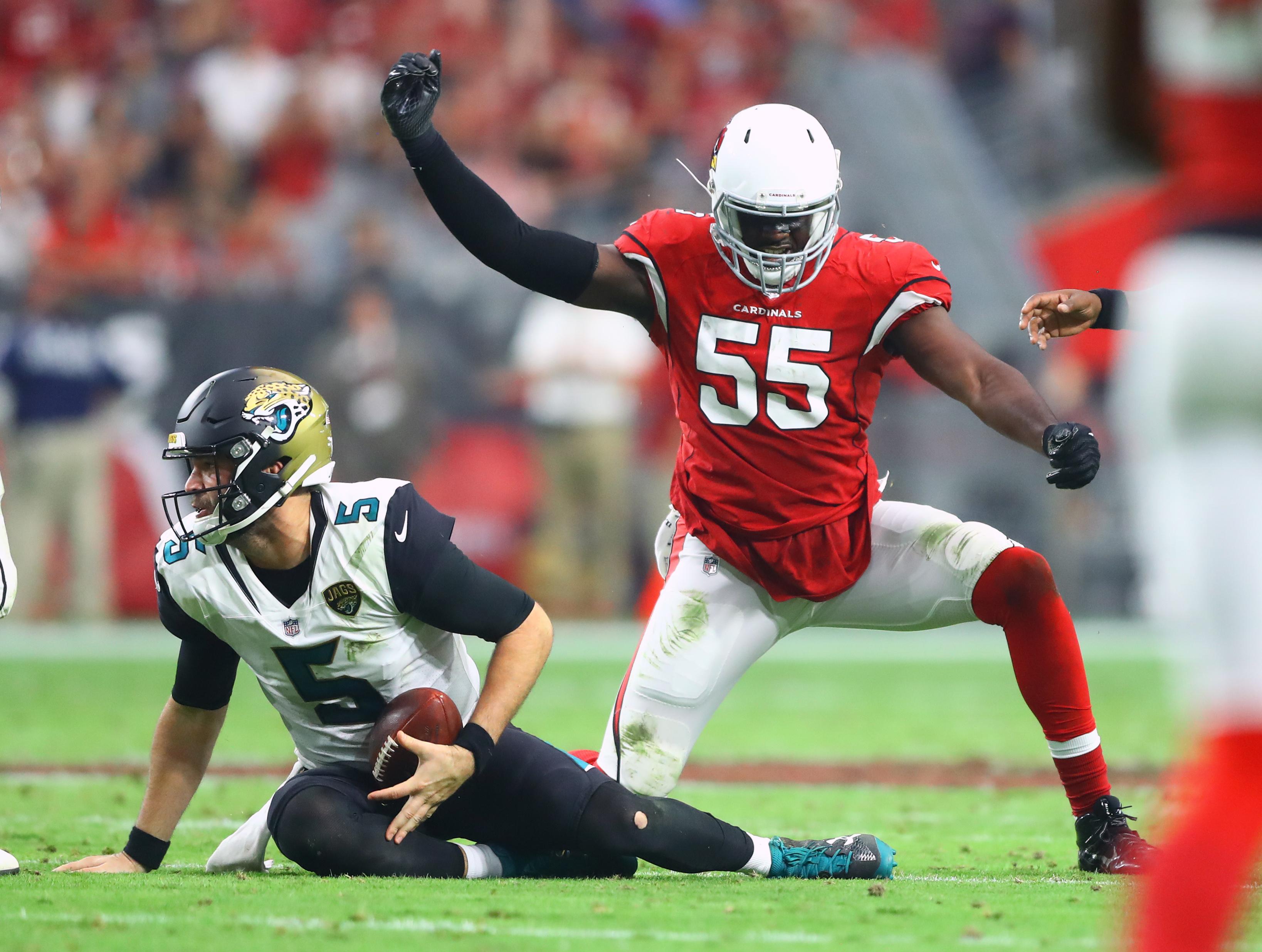 NFL: Jacksonville Jaguars at Arizona Cardinals