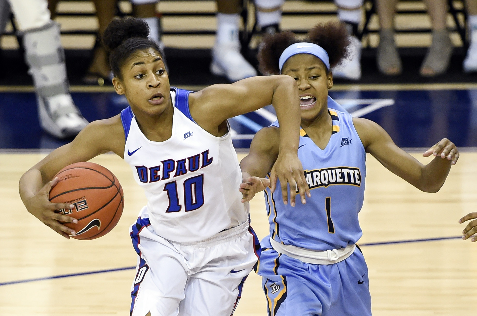 NCAA Womens Basketball: Big East Conference Tournament-Marquette vs DePaul
