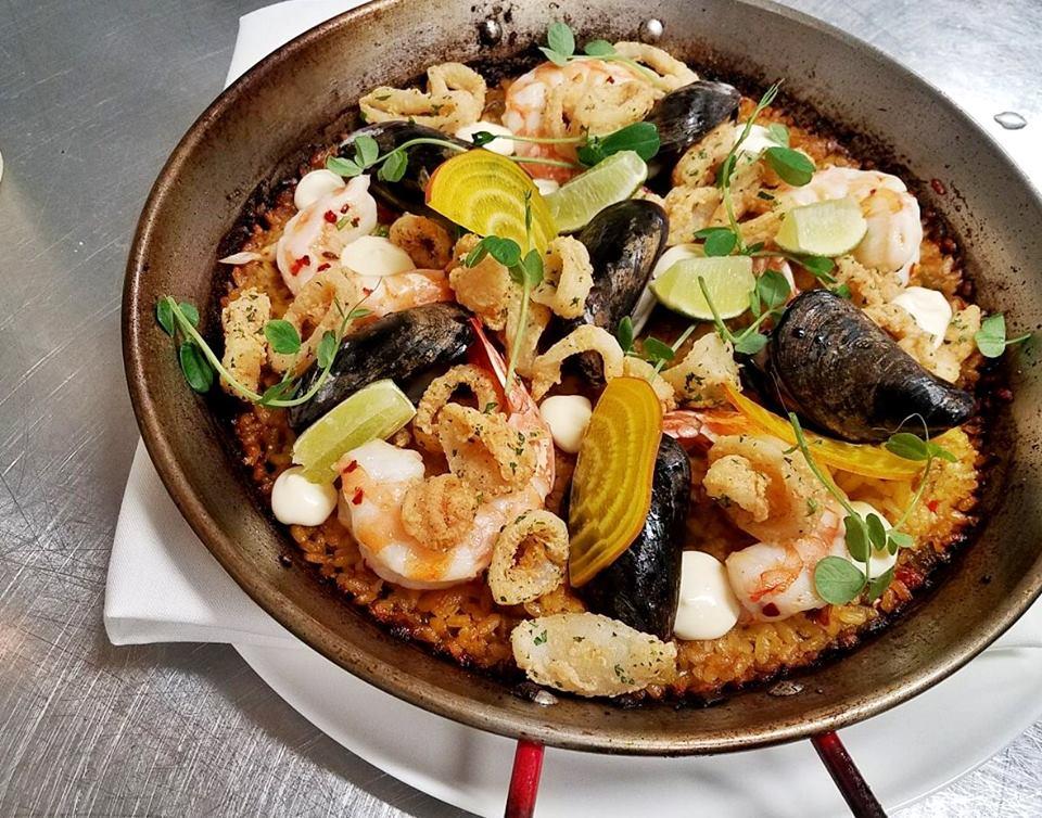 Paella at El Chipiron
