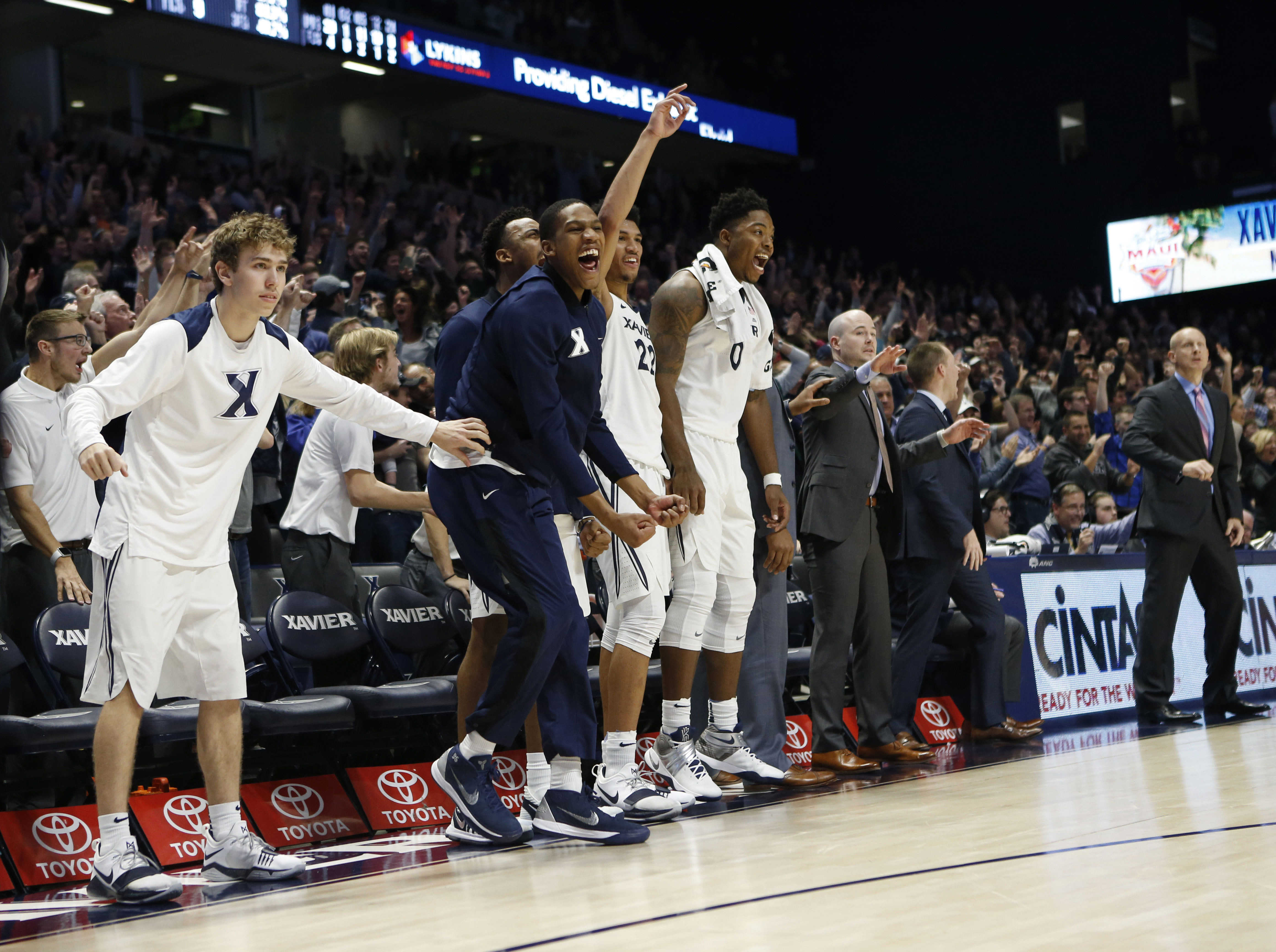 NCAA Basketball: East Tennessee State at Xavier