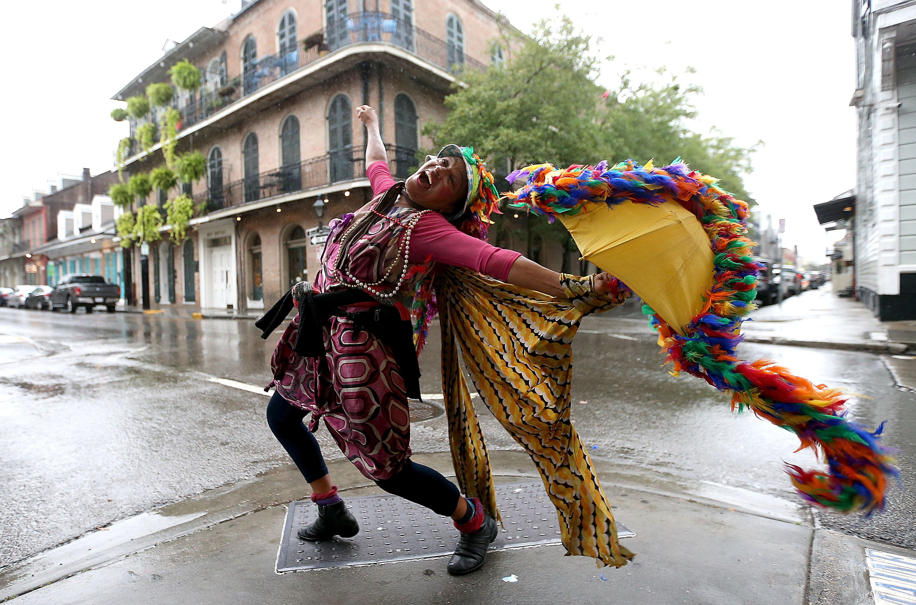 New Orleans Prepares For Hurricane Nate To Make Landfall Over Weekend