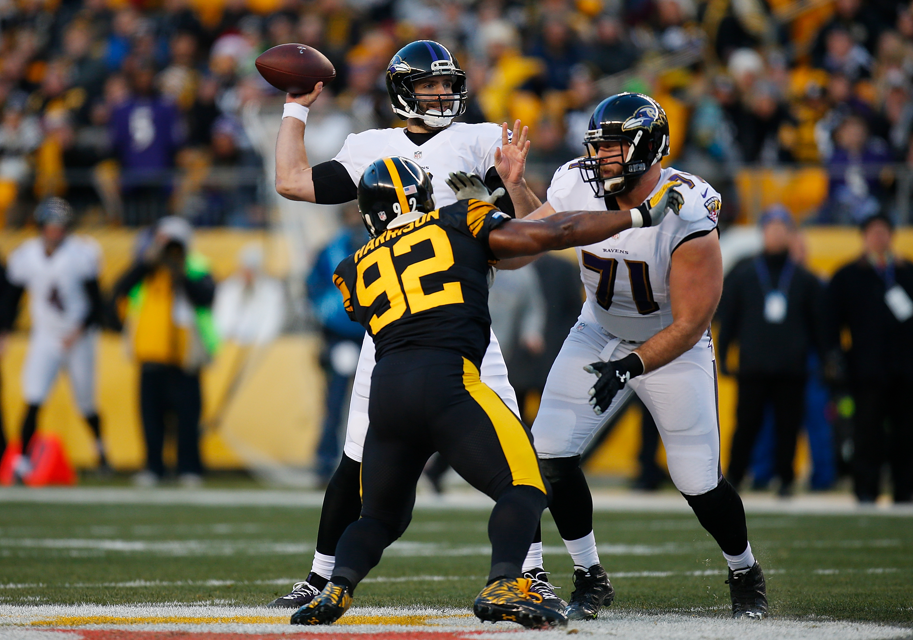 separation shoes a3980 66fab Ravens interested in claiming former Steeler James Harrison ...