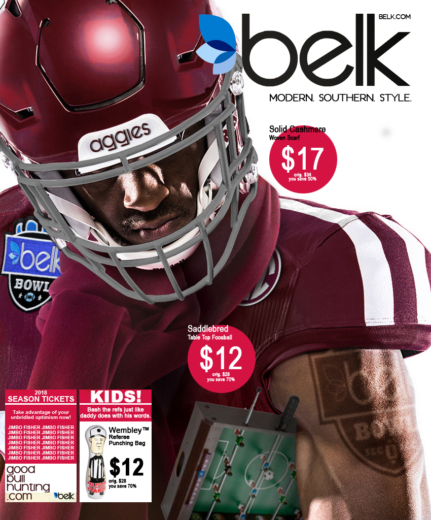 809e7b192c4658 Texas A M s Belk Bowl uniforms are the best bowl uniforms