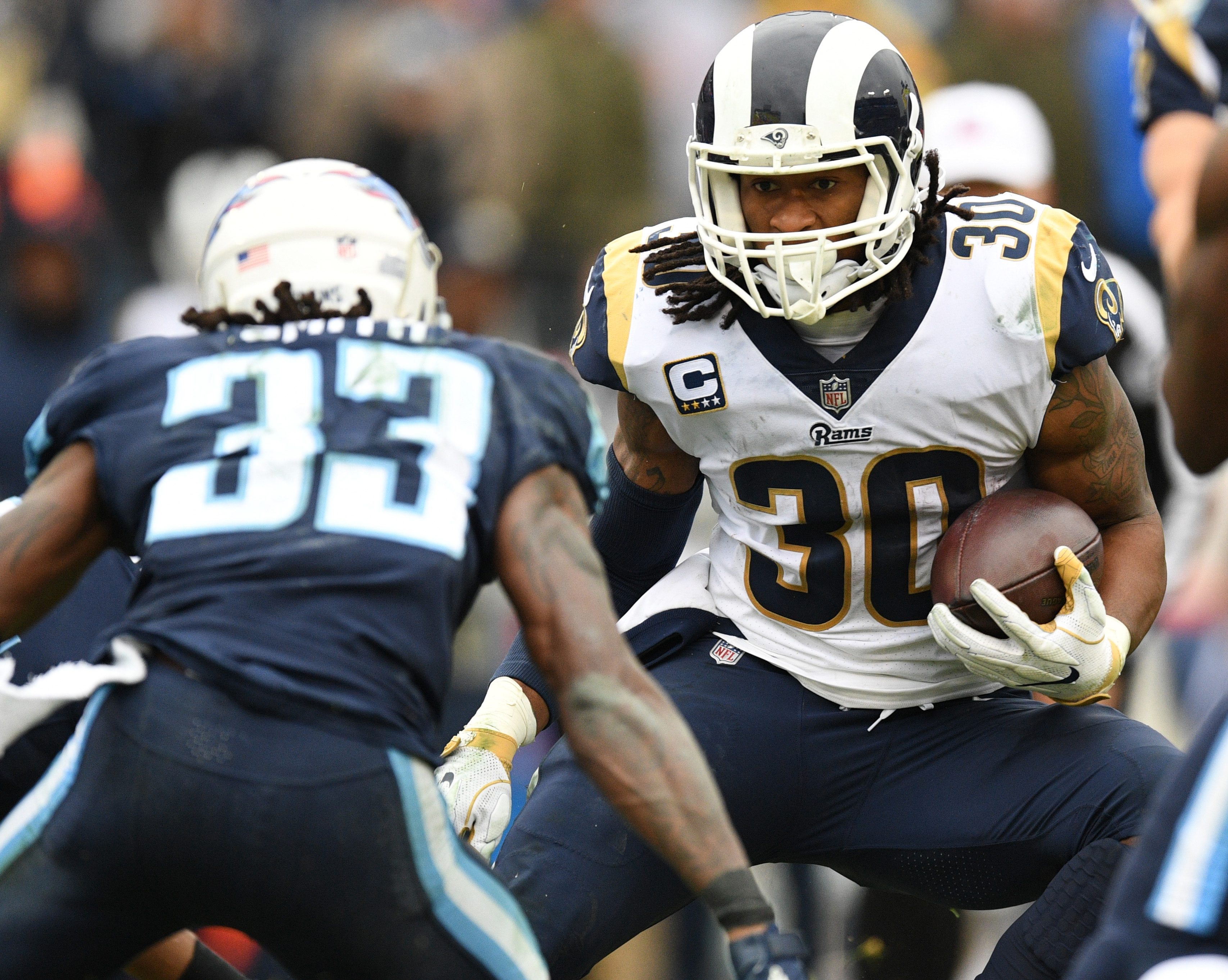 NFL: Los Angeles Rams at Tennessee Titans