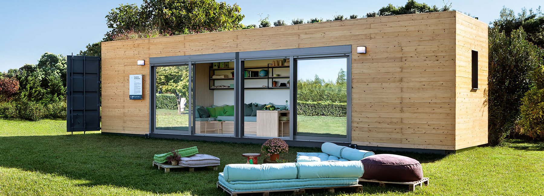 New modular shipping container home is also energy-efficient