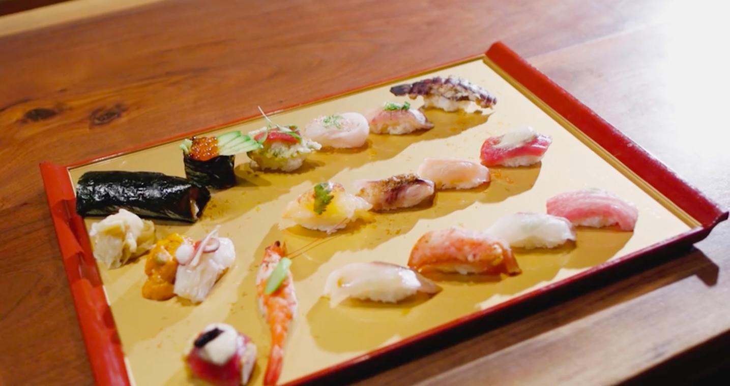 Sushi Seki's omakase