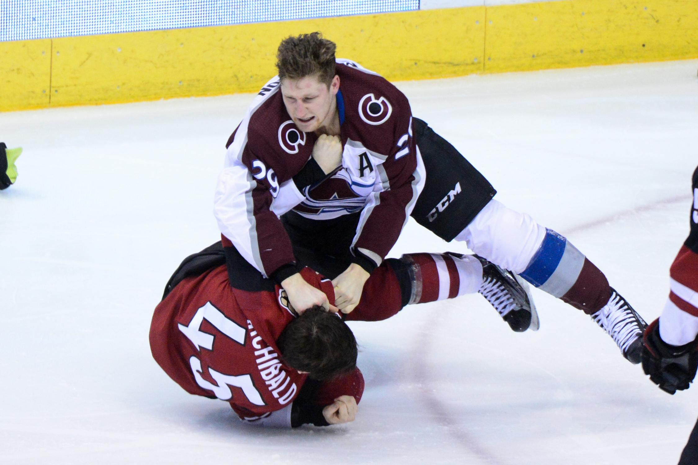 NHL: Colorado Avalanche at Arizona Coyotes