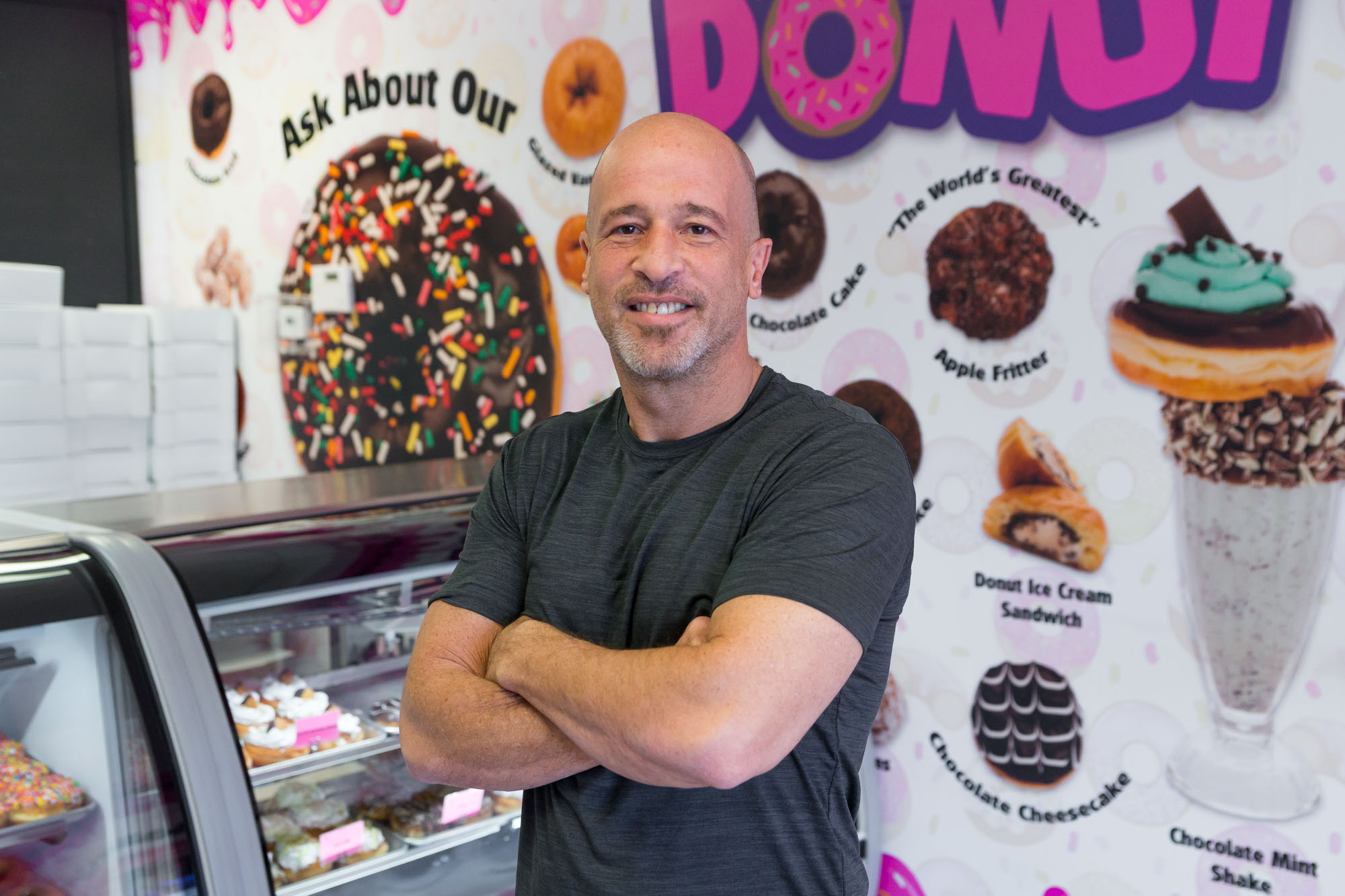 Brett Raymer of Donut Mania