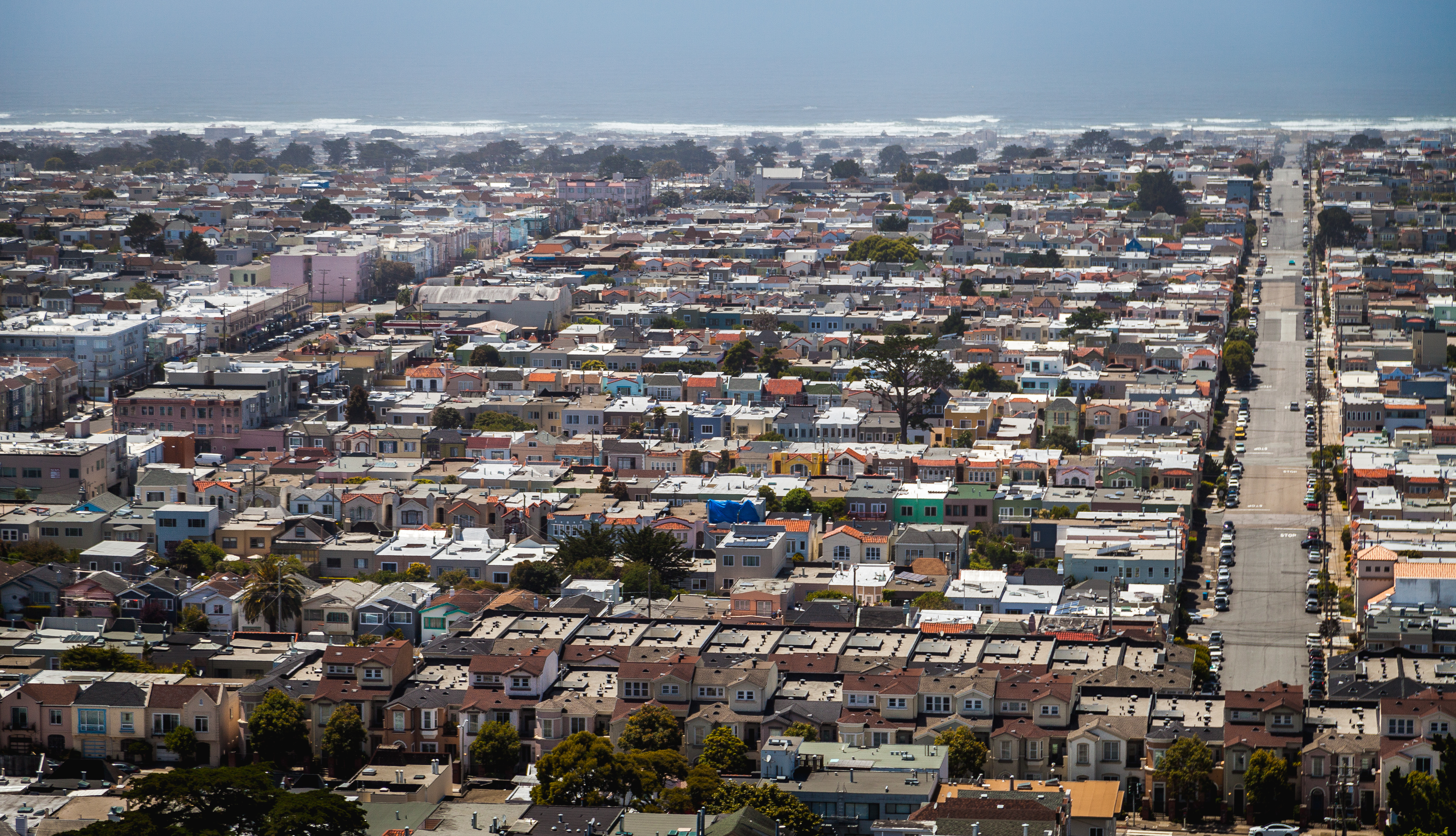 Outer Sunset.