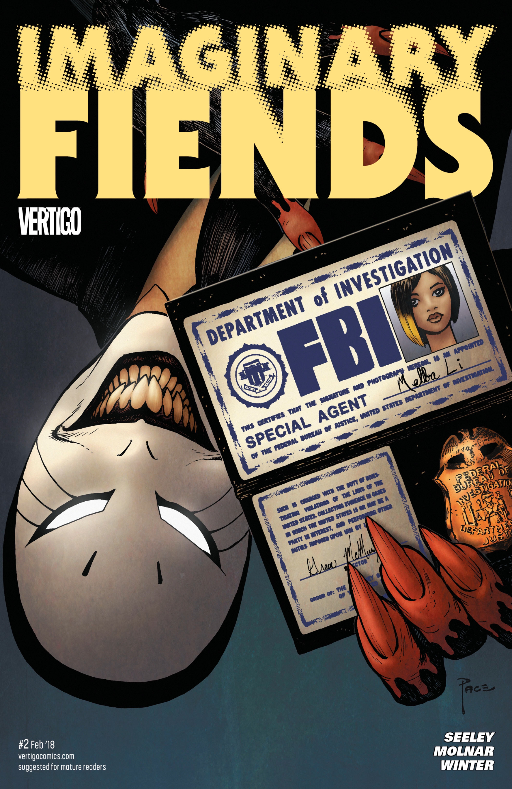 DC's new horror comic pits FBI agents against deadly imaginary friends