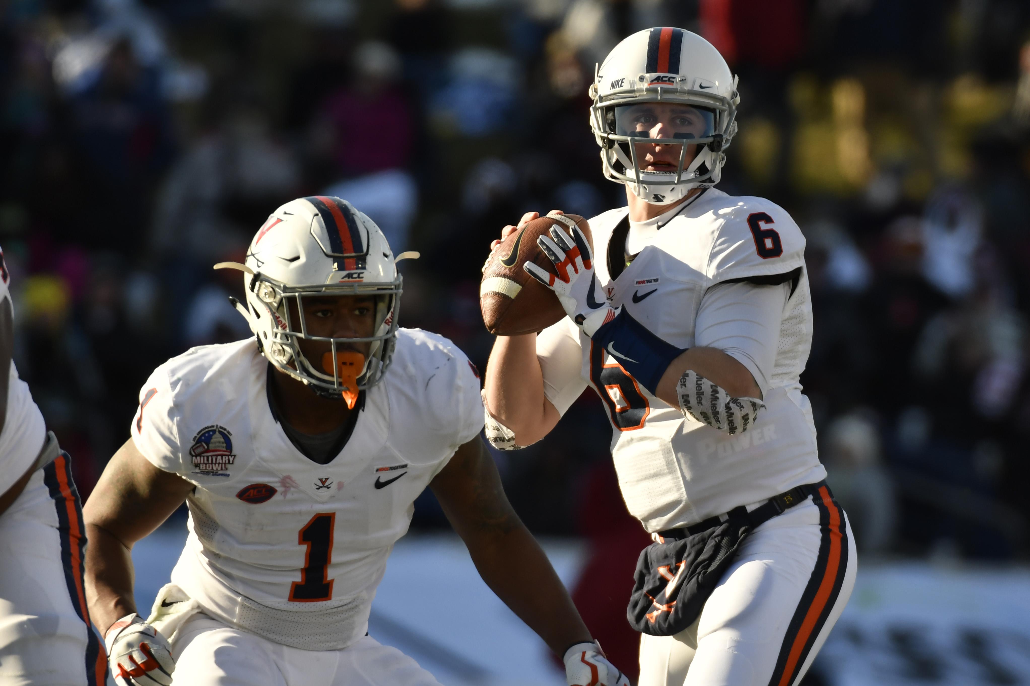 NCAA Football: Military Bowl-Virginia vs Navy