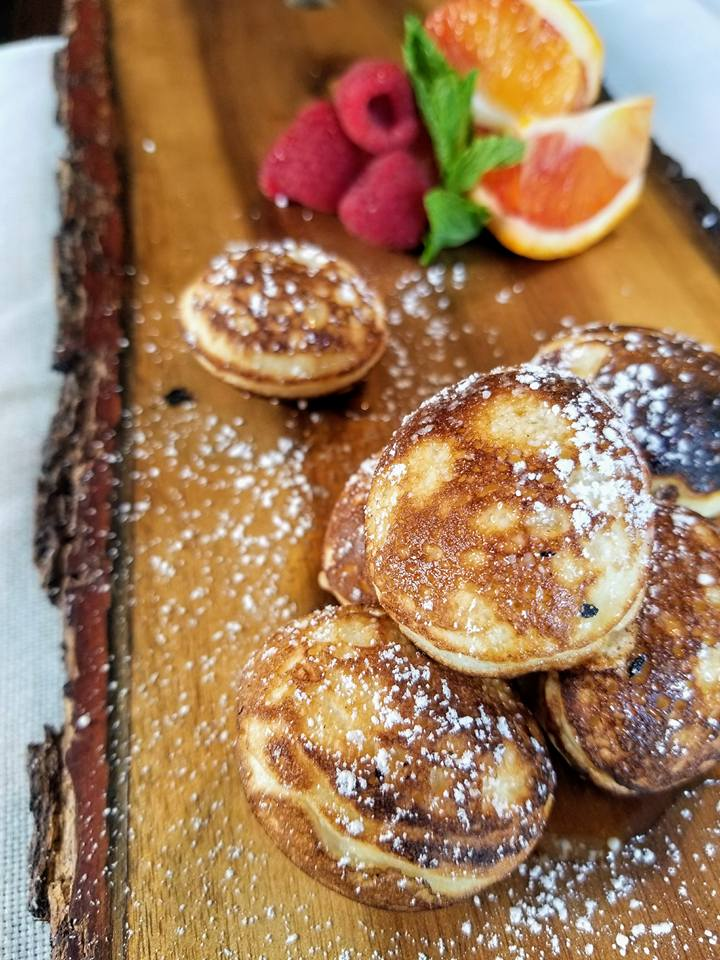 Johnnycakes at The Funky Brunch