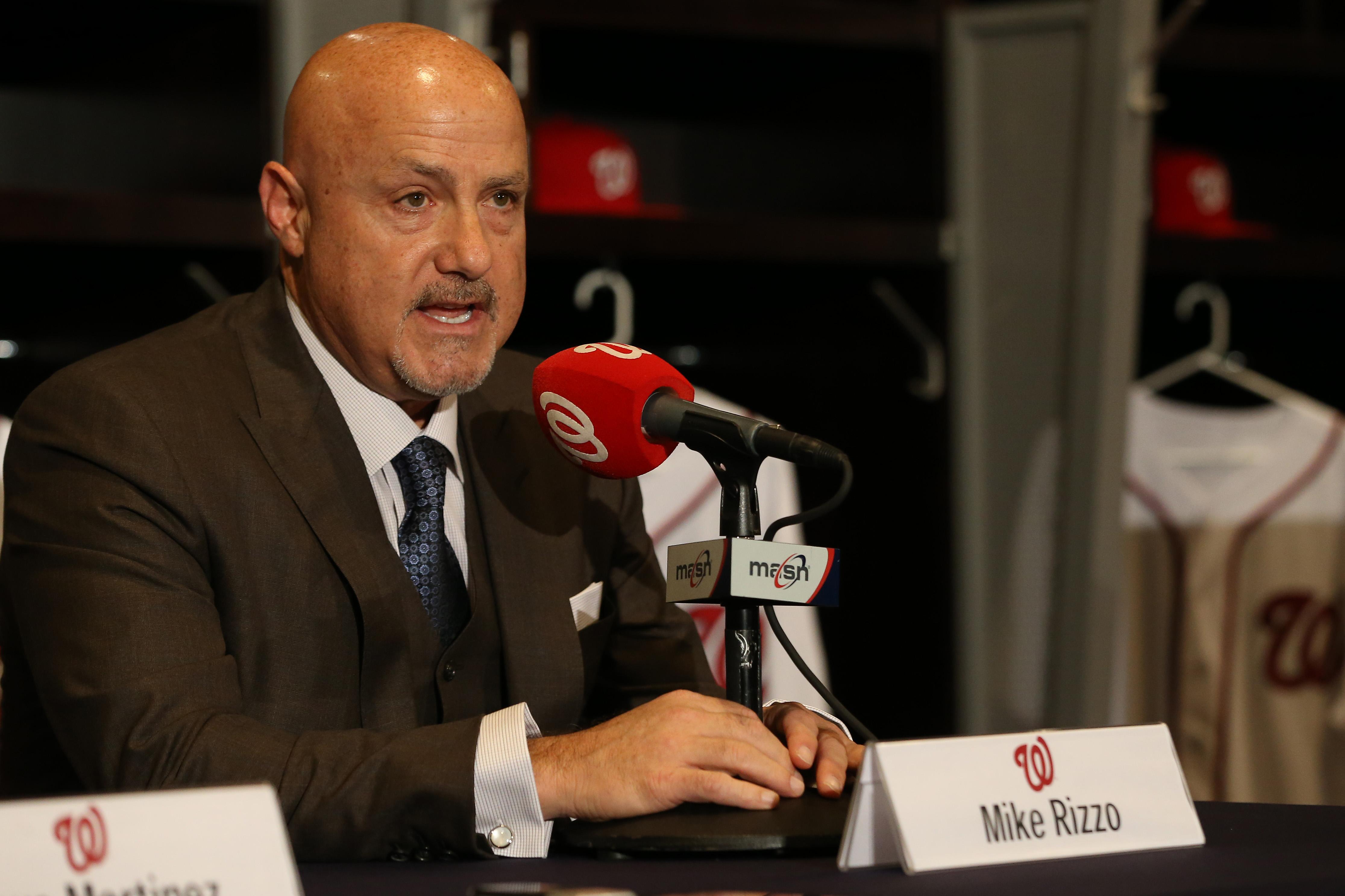 MLB: Washington Nationals-Press Conference