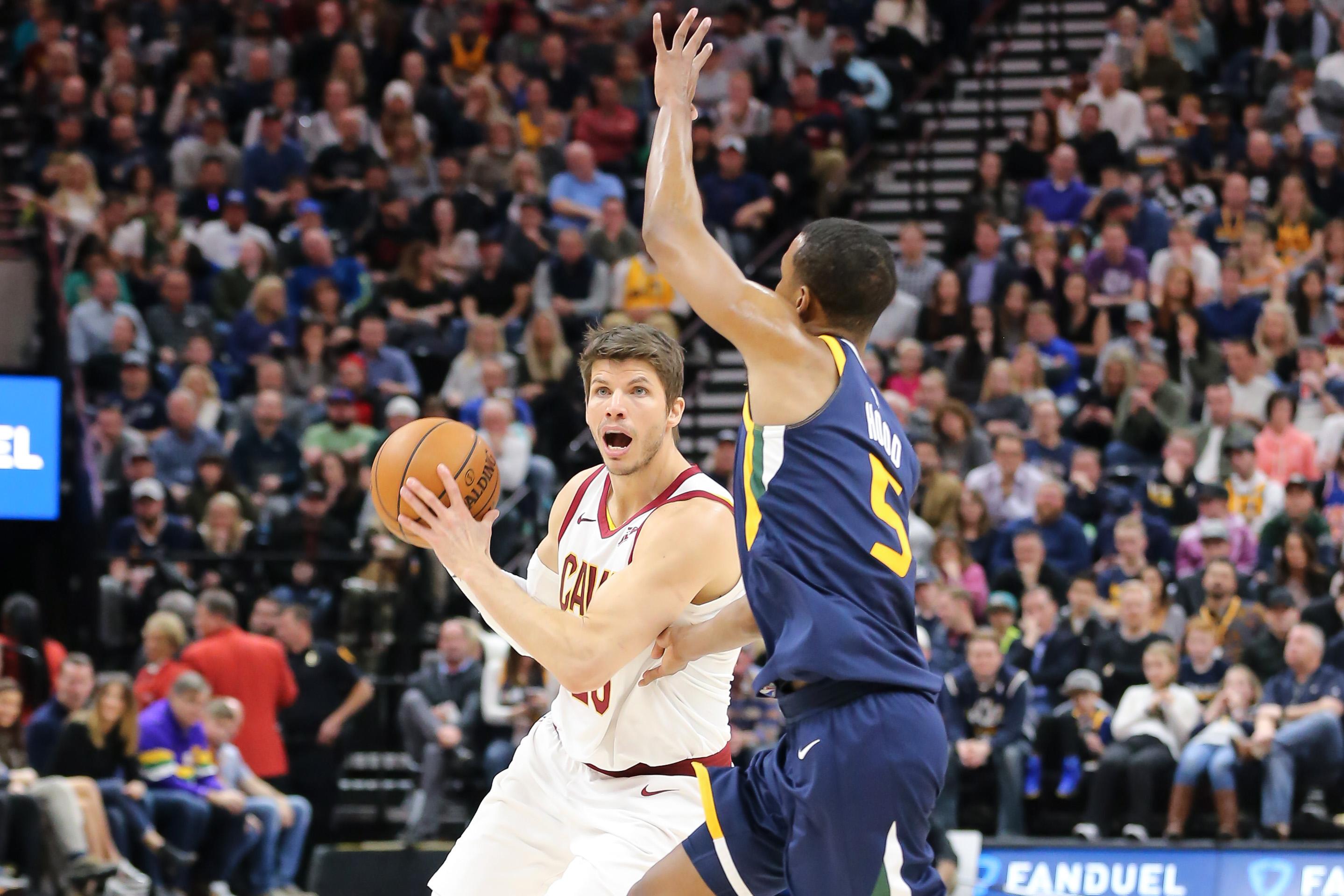 NBA: Cleveland Cavaliers at Utah Jazz