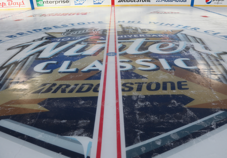 2018 Bridgestone NHL Winter Classic - Rink Build Out