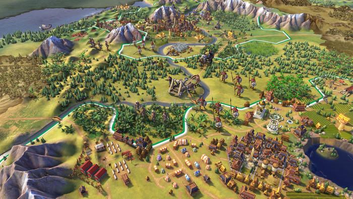 Civilization 6 on iPad is a marvel