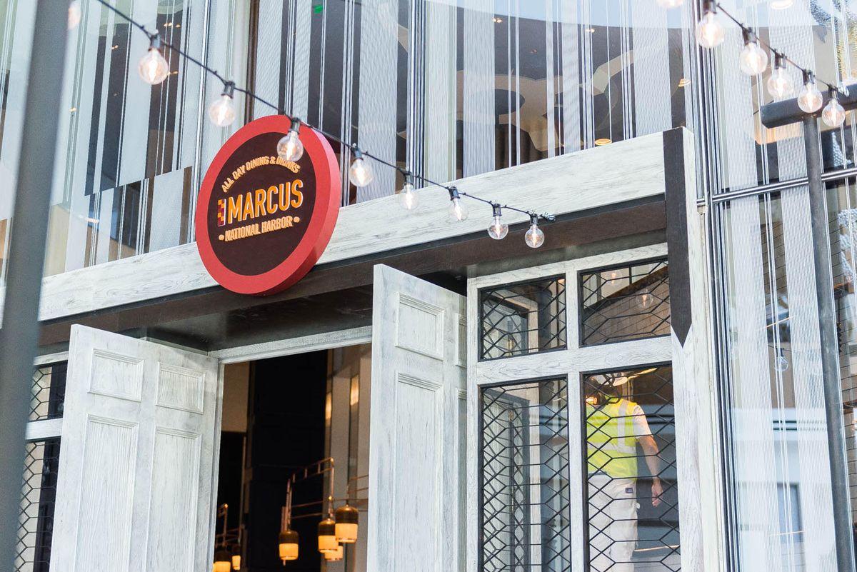 Marcus Samuelsson's restaurant at National Harbor