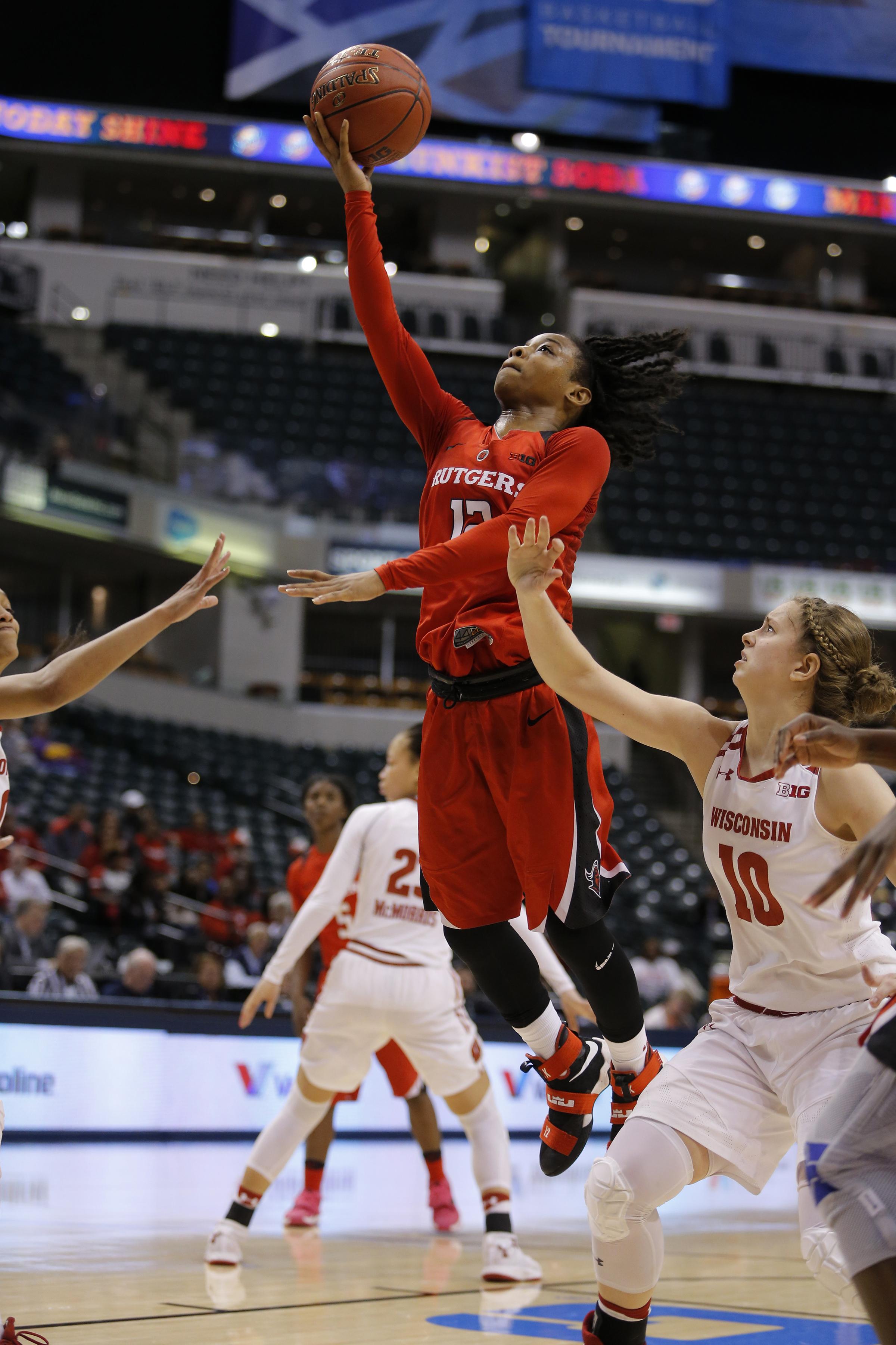 COLLEGE BASKETBALL: MAR 01 Big Ten Women's Tournament - Rutgers v Wisconsin