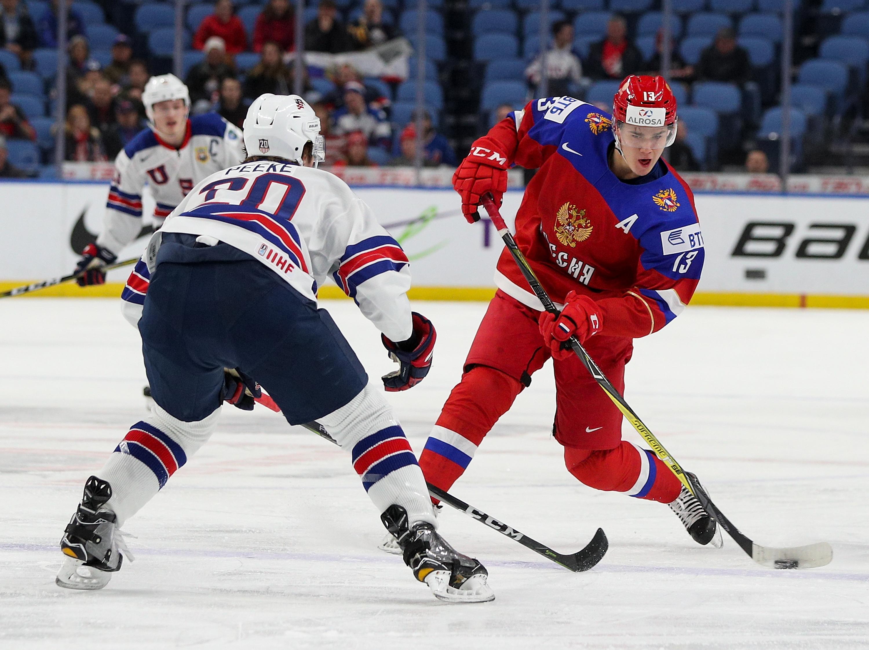 Russia vs United States: Quarterfinal - 2018 IIHF World Junior Championship