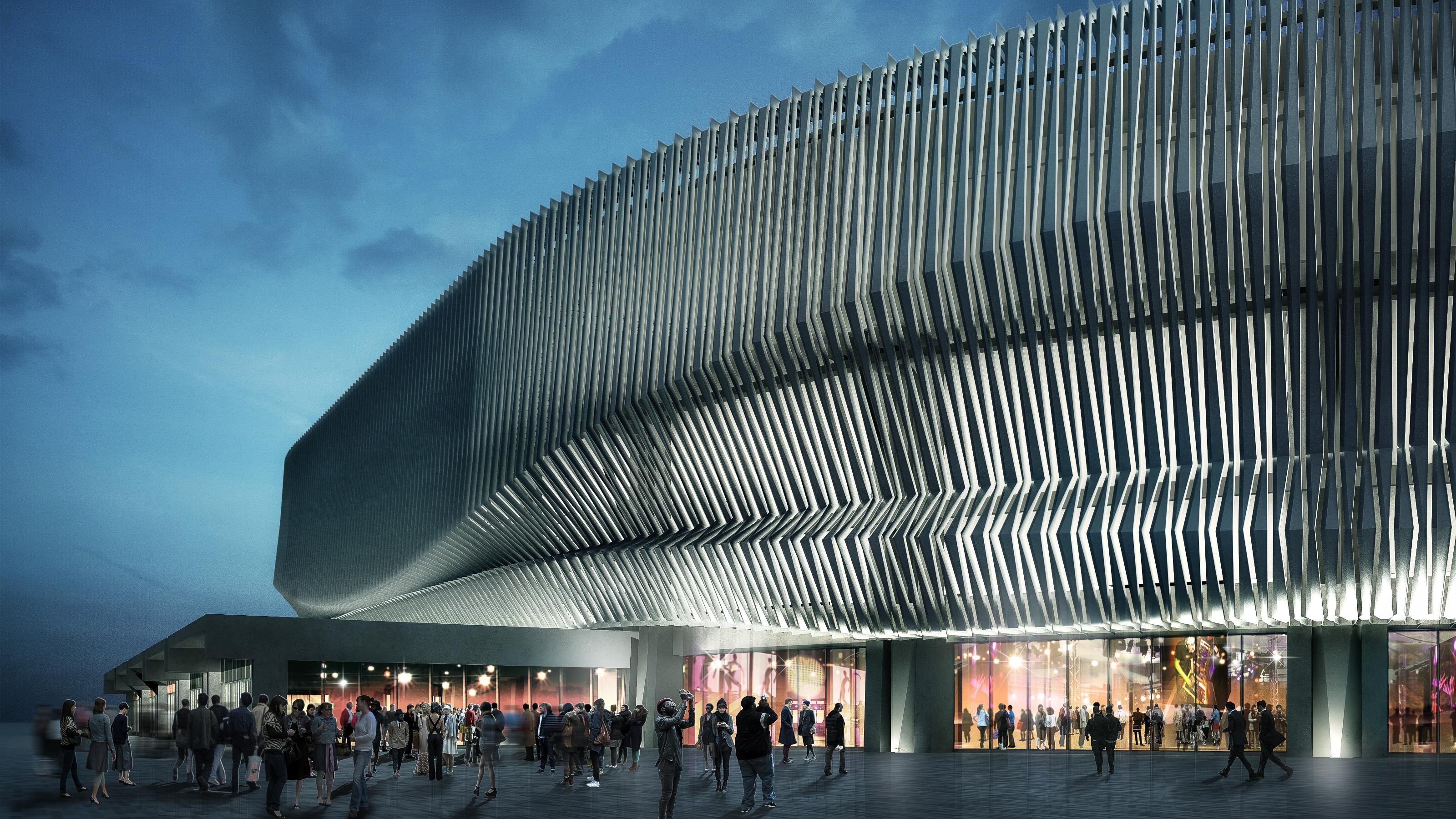 Nassau Coliseum rendering