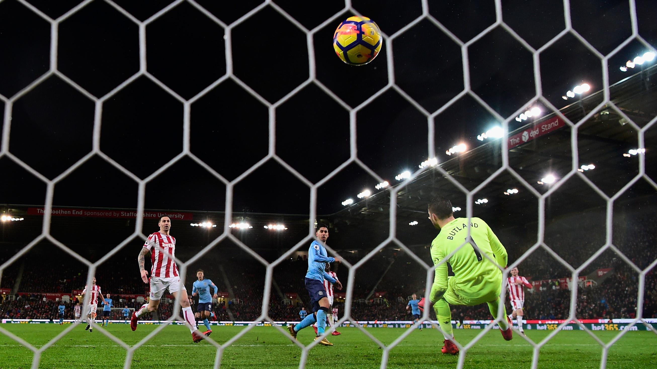 Stoke City v Newcastle United - Premier League