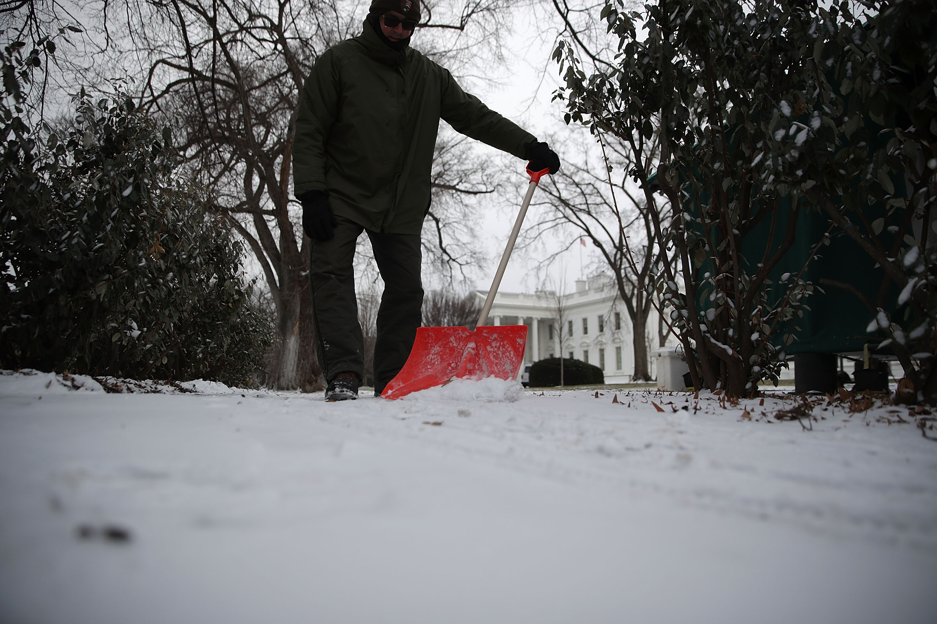 Massive Winter Storm Brings Snow Across Large Swath Of Eastern States