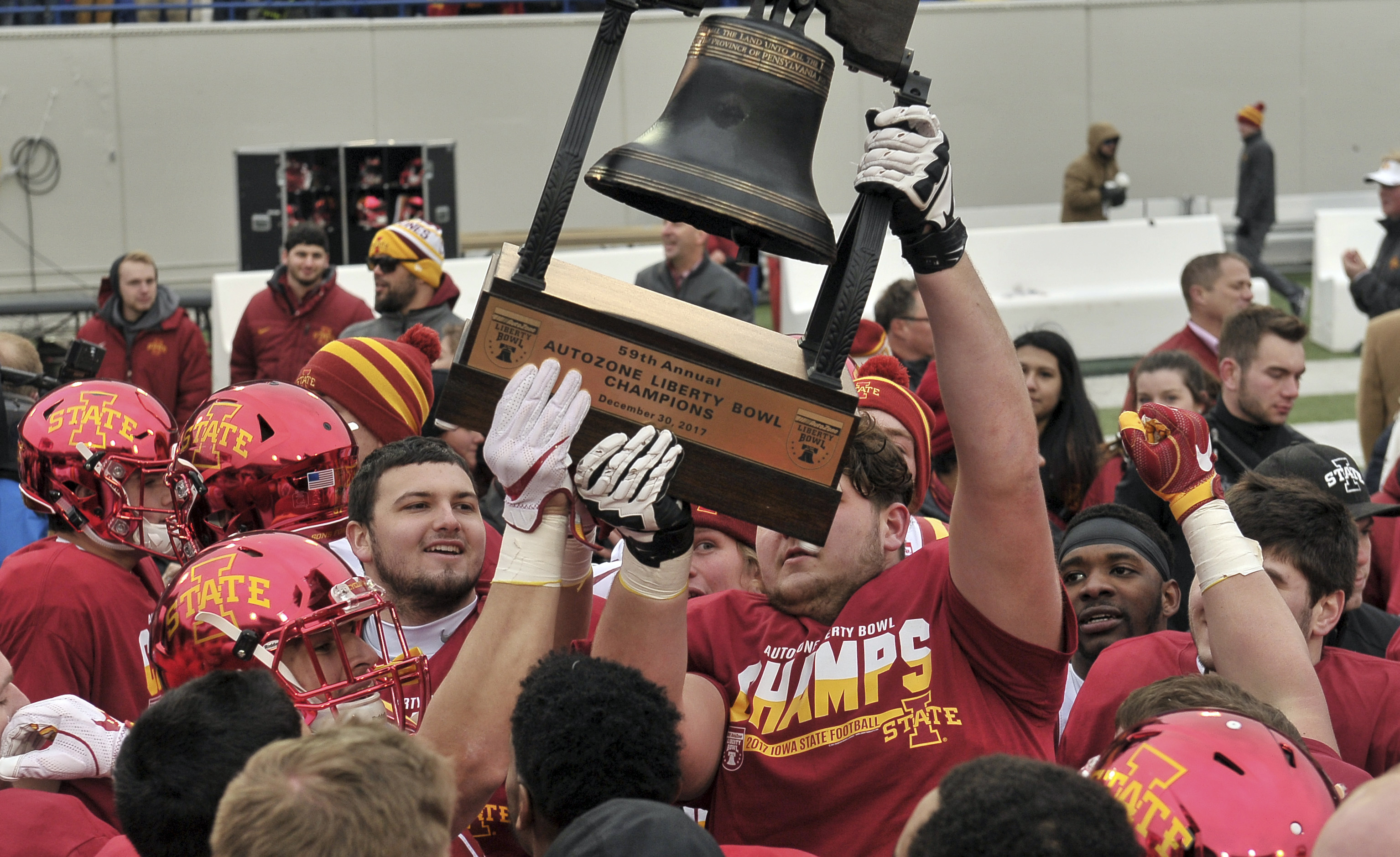 Iowa State Announces First Ever 10 Win Football Season