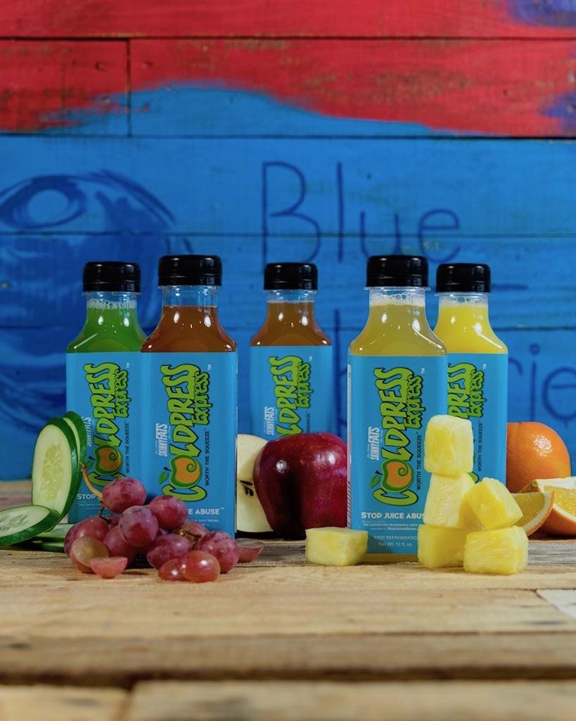 Juices at ColdPress Express