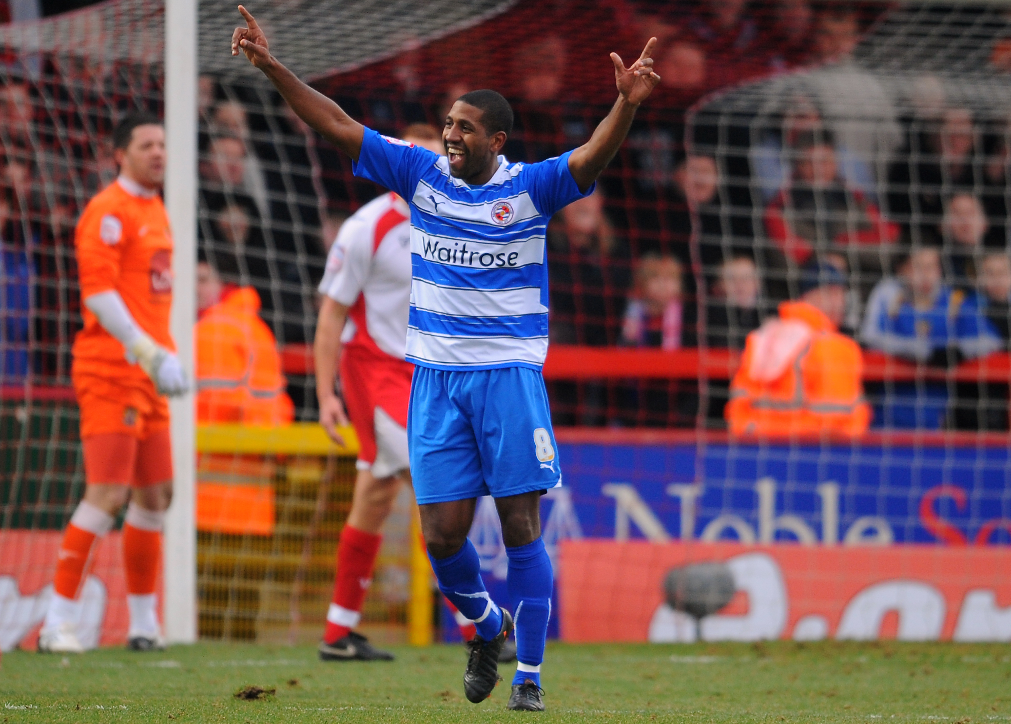Soccer - FA Cup - Fourth Round - Stevenage v Reading - Broadhall Way