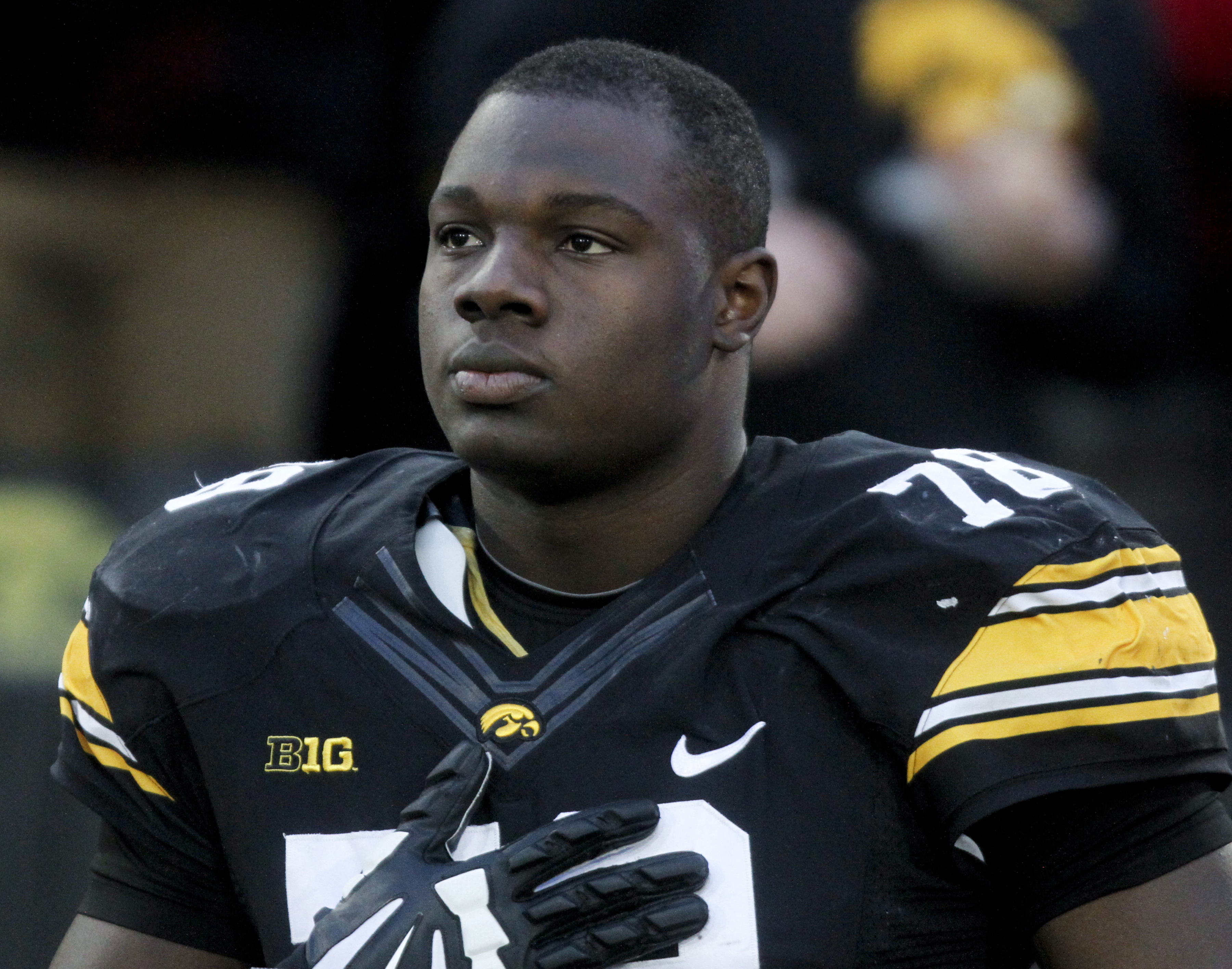 sale retailer ae8b6 d1a9f JAMES DANIELS DECLARES FOR THE NFL DRAFT - Black Heart Gold ...