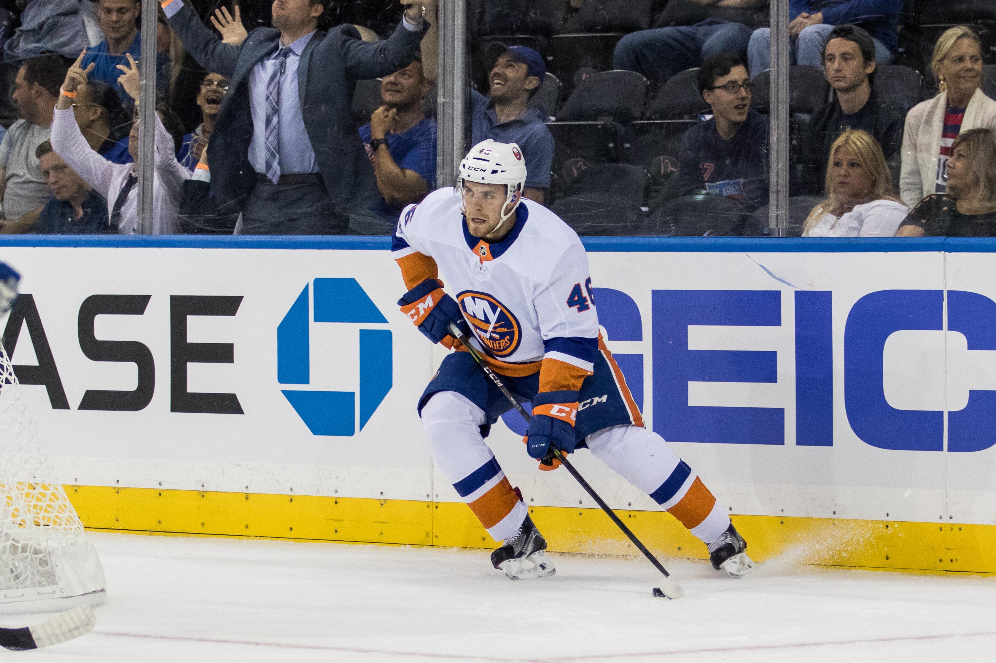 NHL: SEP 18 Preseason - Islanders at Rangers