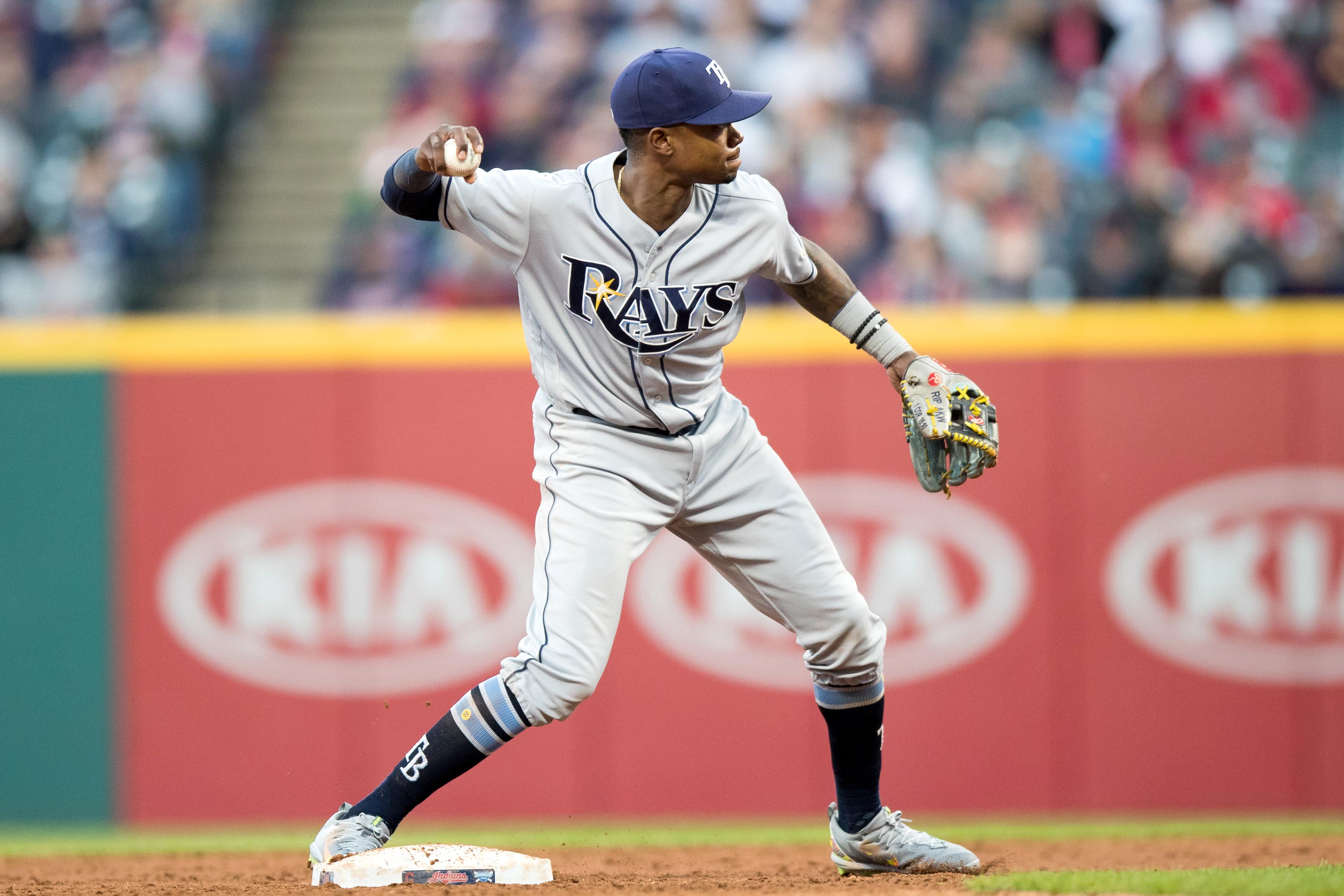 MLB: MAY 15 Rays at Indians