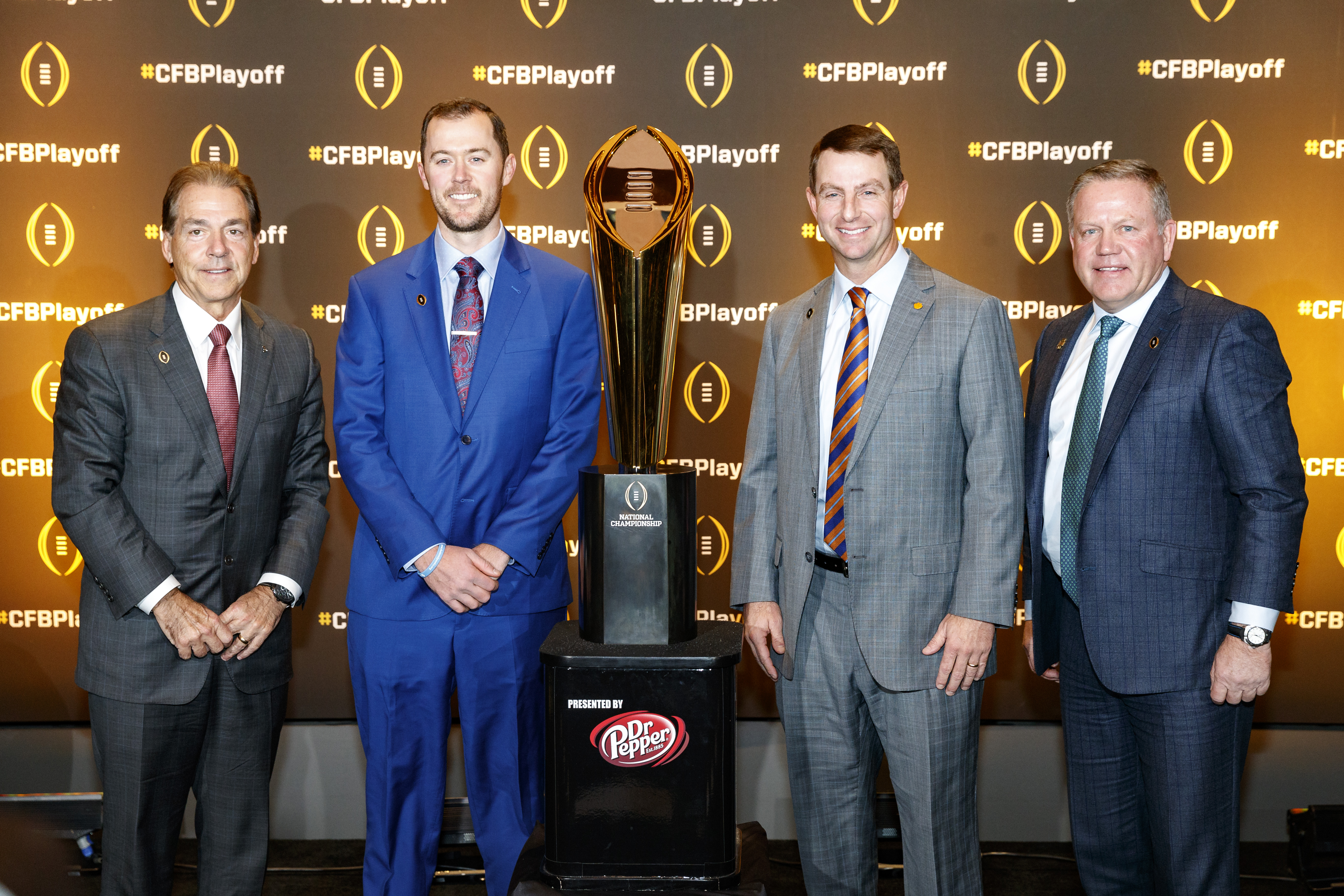 College Football Playoff Semifinal Head Coaches - News Conference