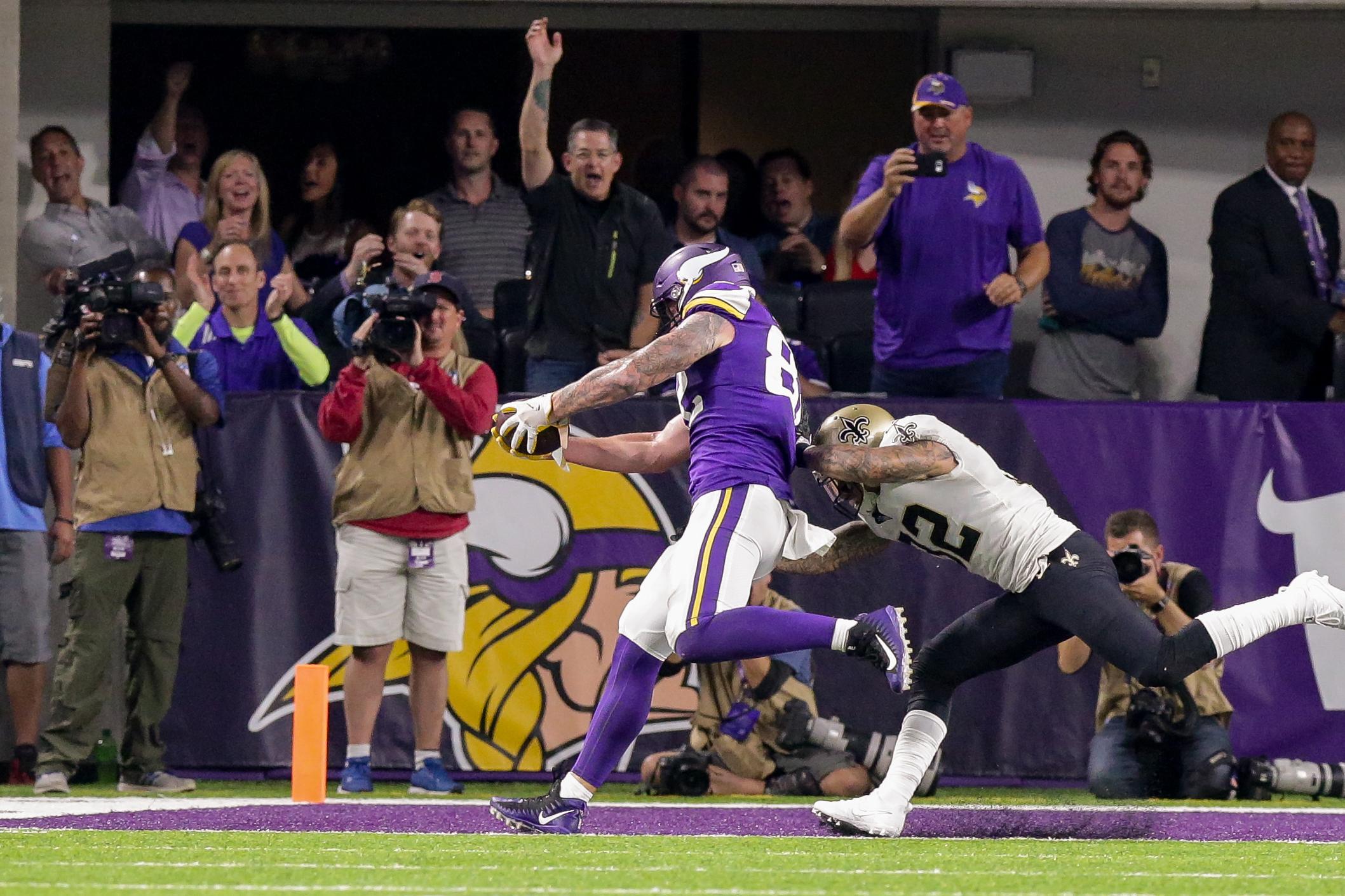 NFL: SEP 11 Saints at Vikings