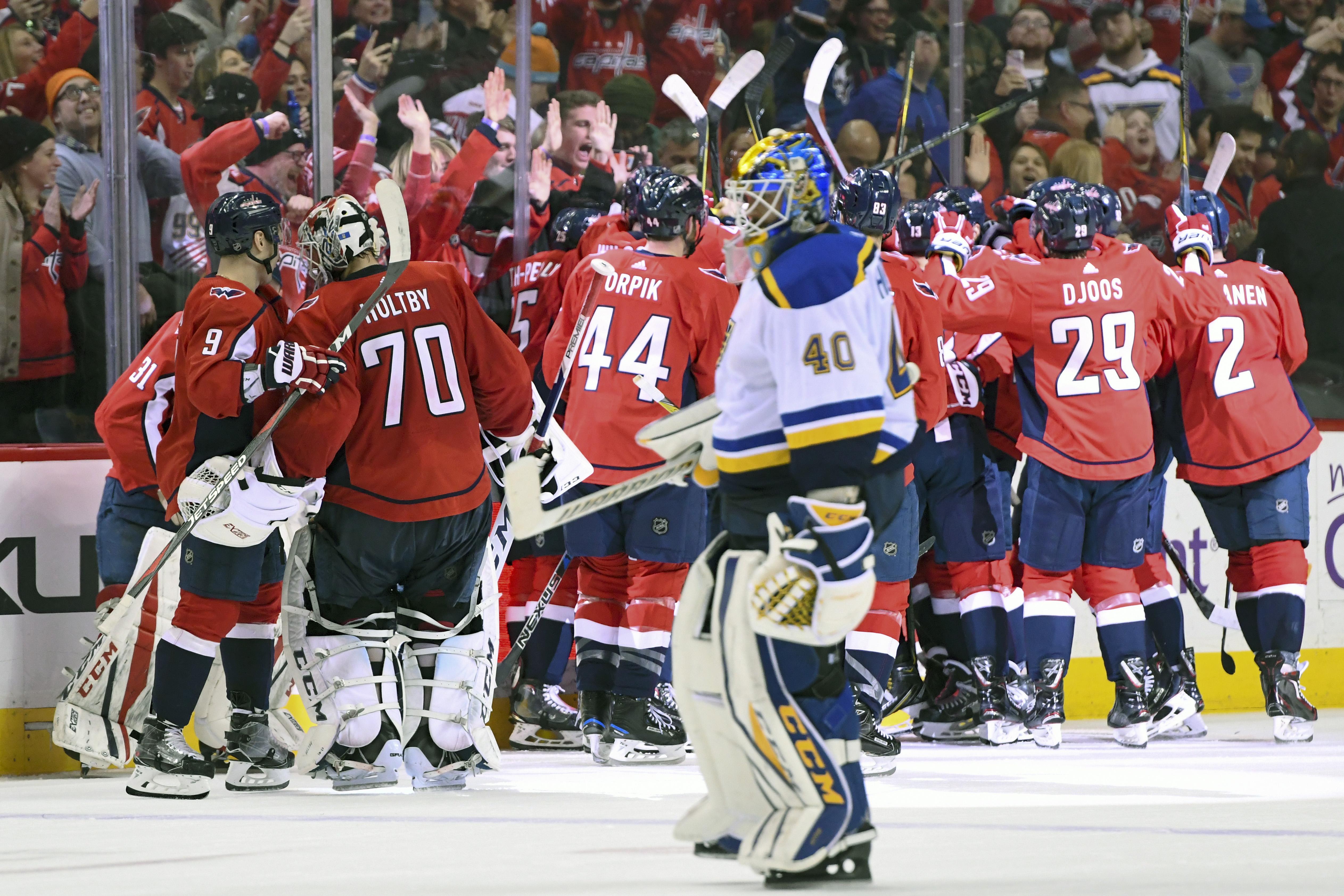 NHL: JAN 07 Blues at Capitals