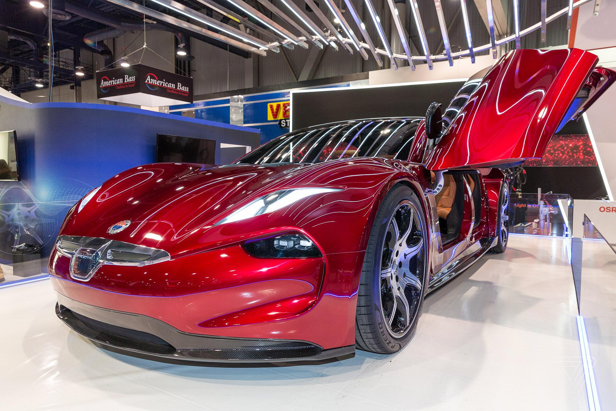 Fiskers Autonomous EMotion Electric Car Promises Miles Of - Luxury car show