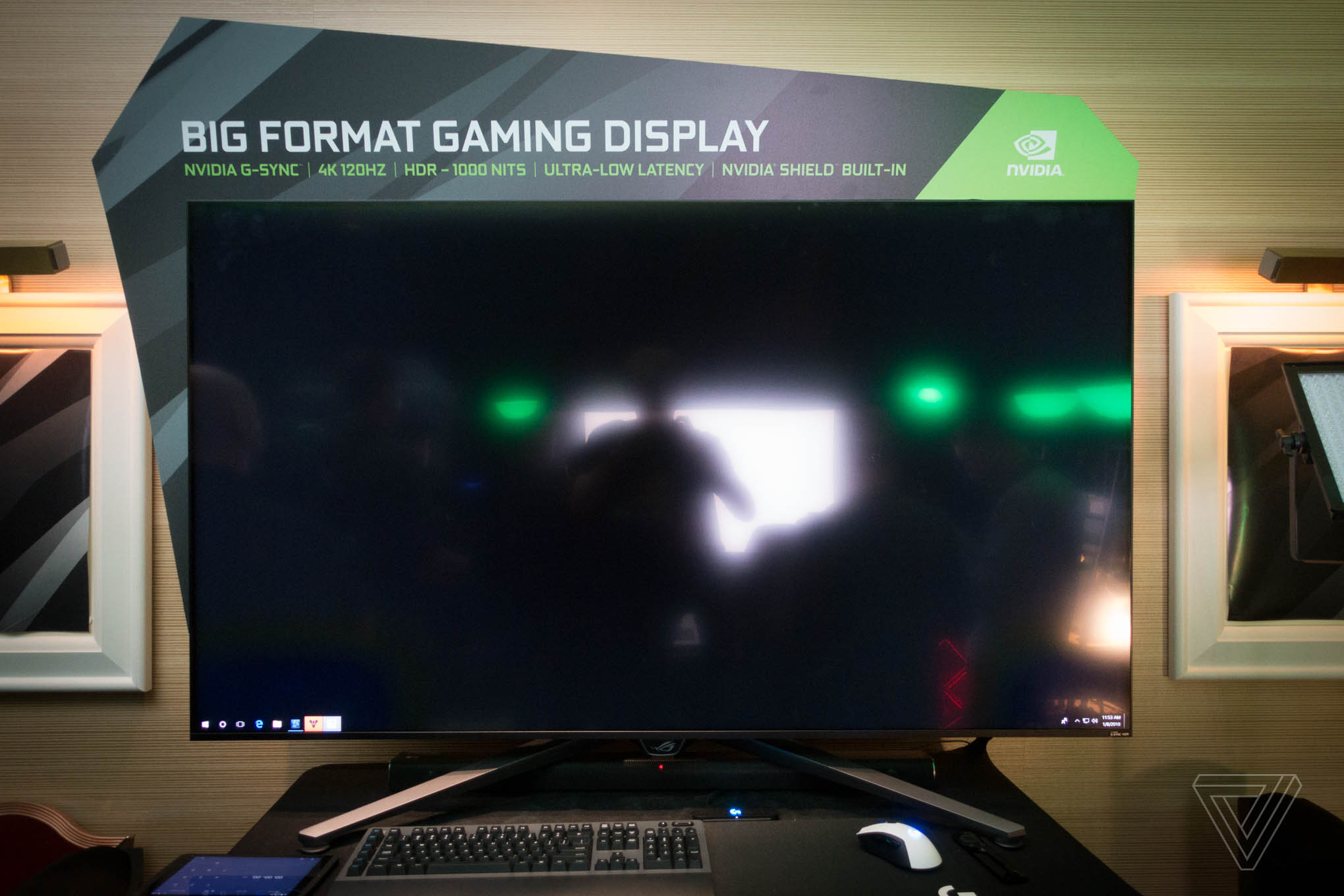 Nvidia's giant 4K gaming displays are a G-Sync dream come true - The