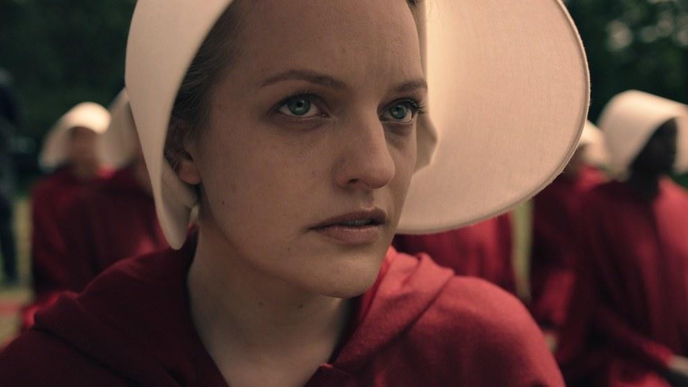 """Elizabeth Moss in """"The Handmaid's Tale"""""""