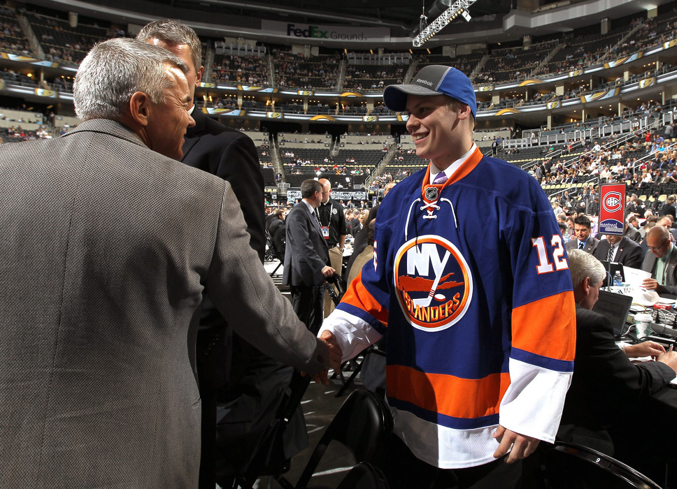 Pokka was the Islanders' 2nd-round, 34th overall pick in 2012.