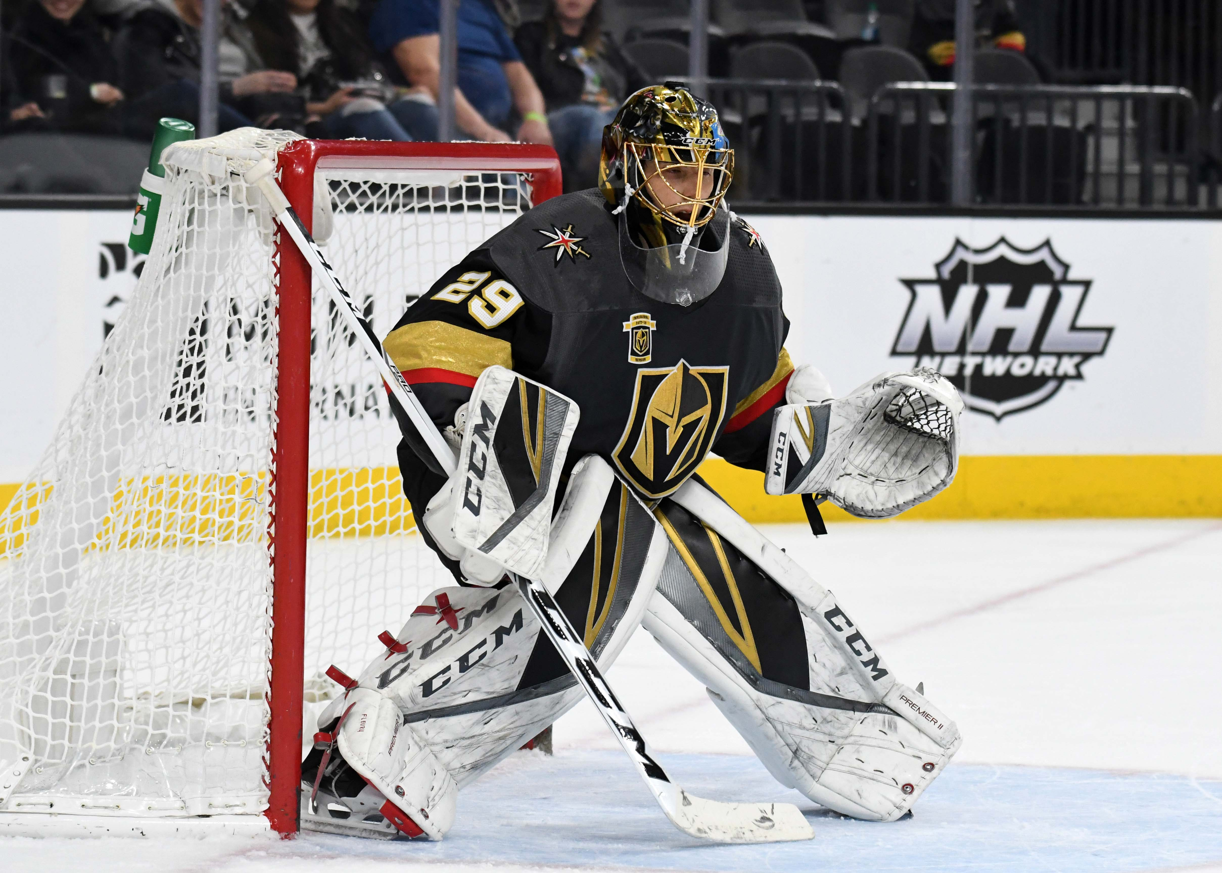 Playing Some Of His Best Hockey Marc Andre Fleury Rewarded With All