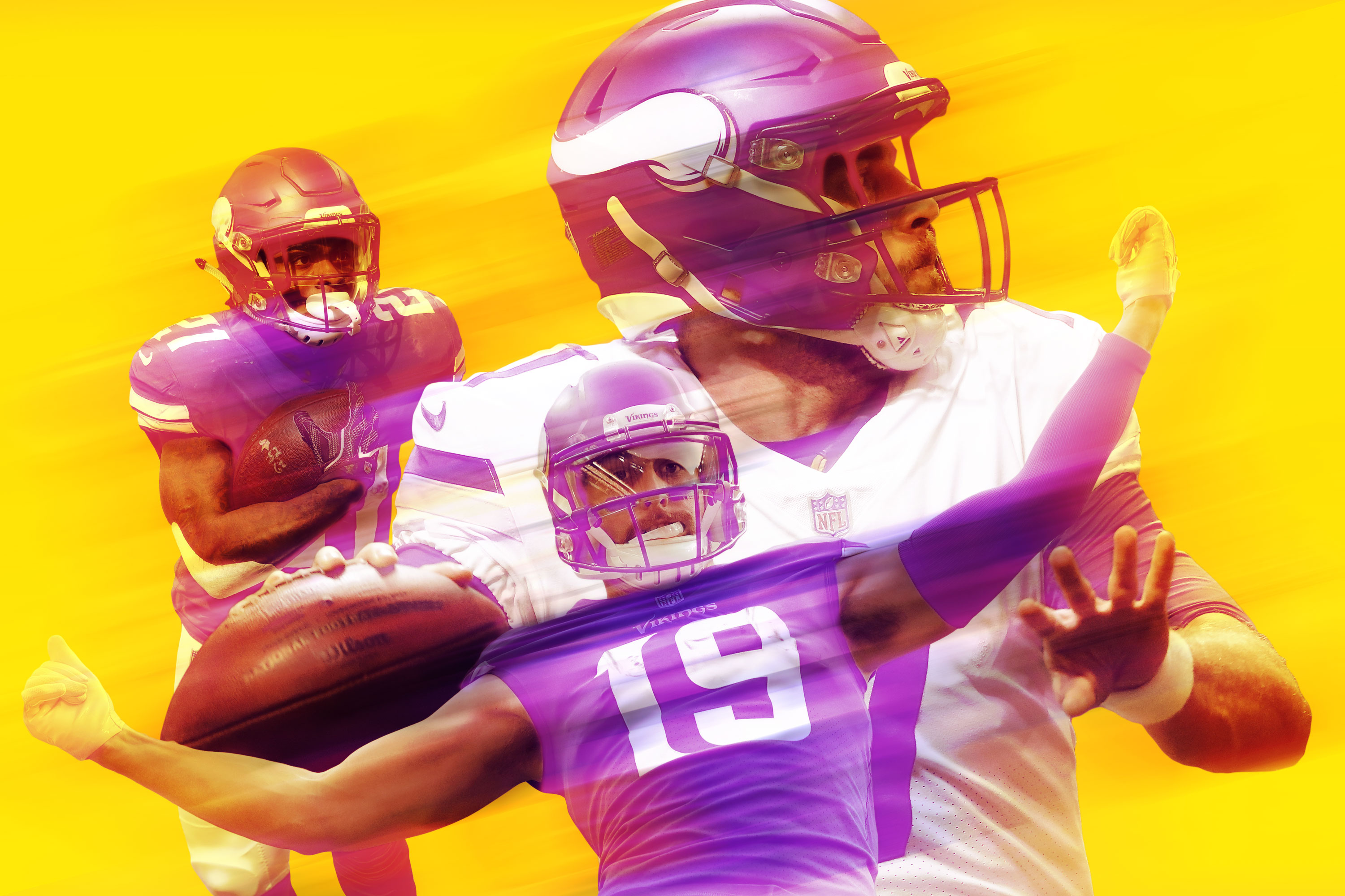 detailed look d47ba 87f49 Case Keenum and the Vikings' Offense of Misfits is Built to ...