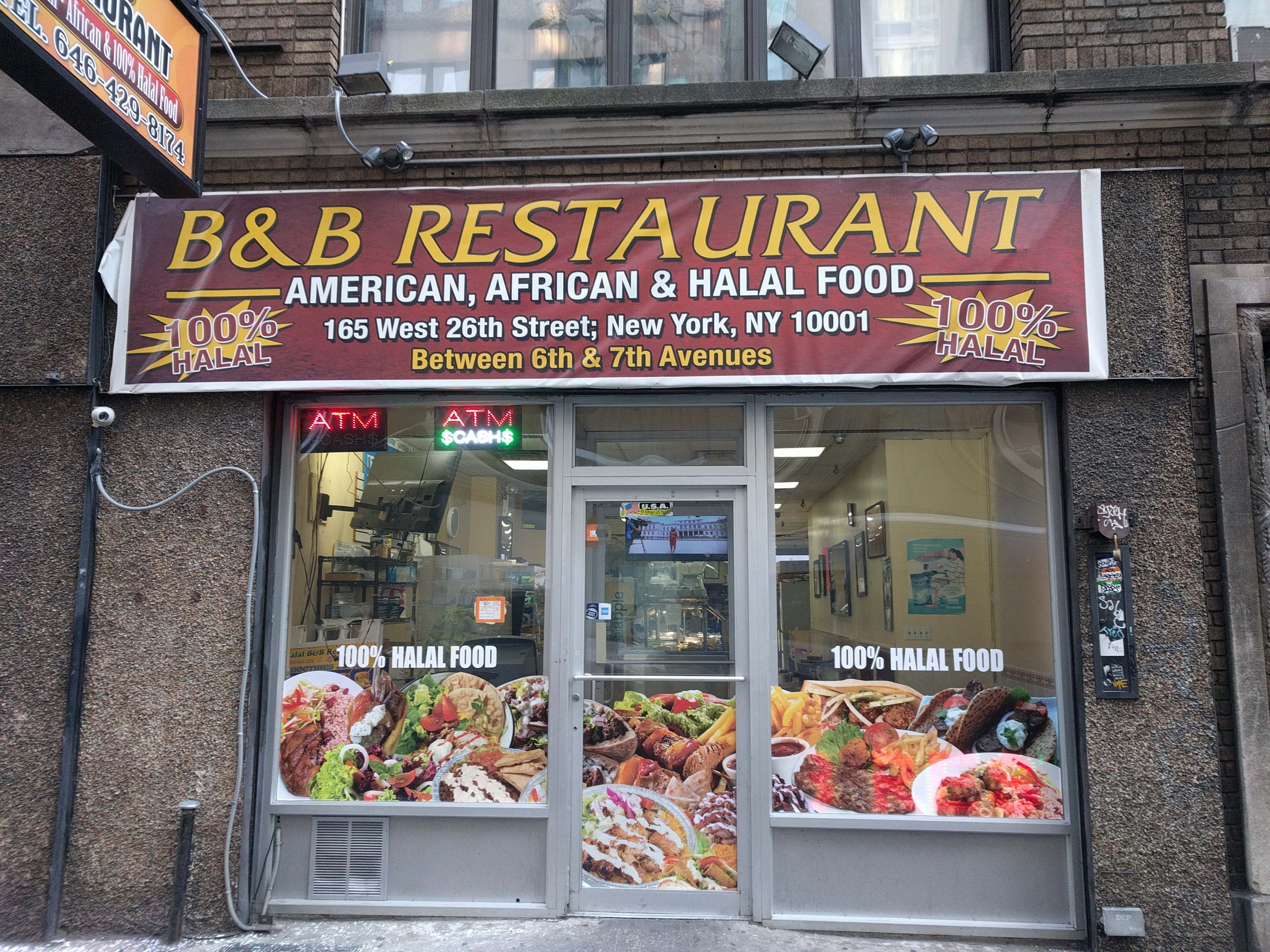 Chelsea's B & B provides a buffet of West African fare