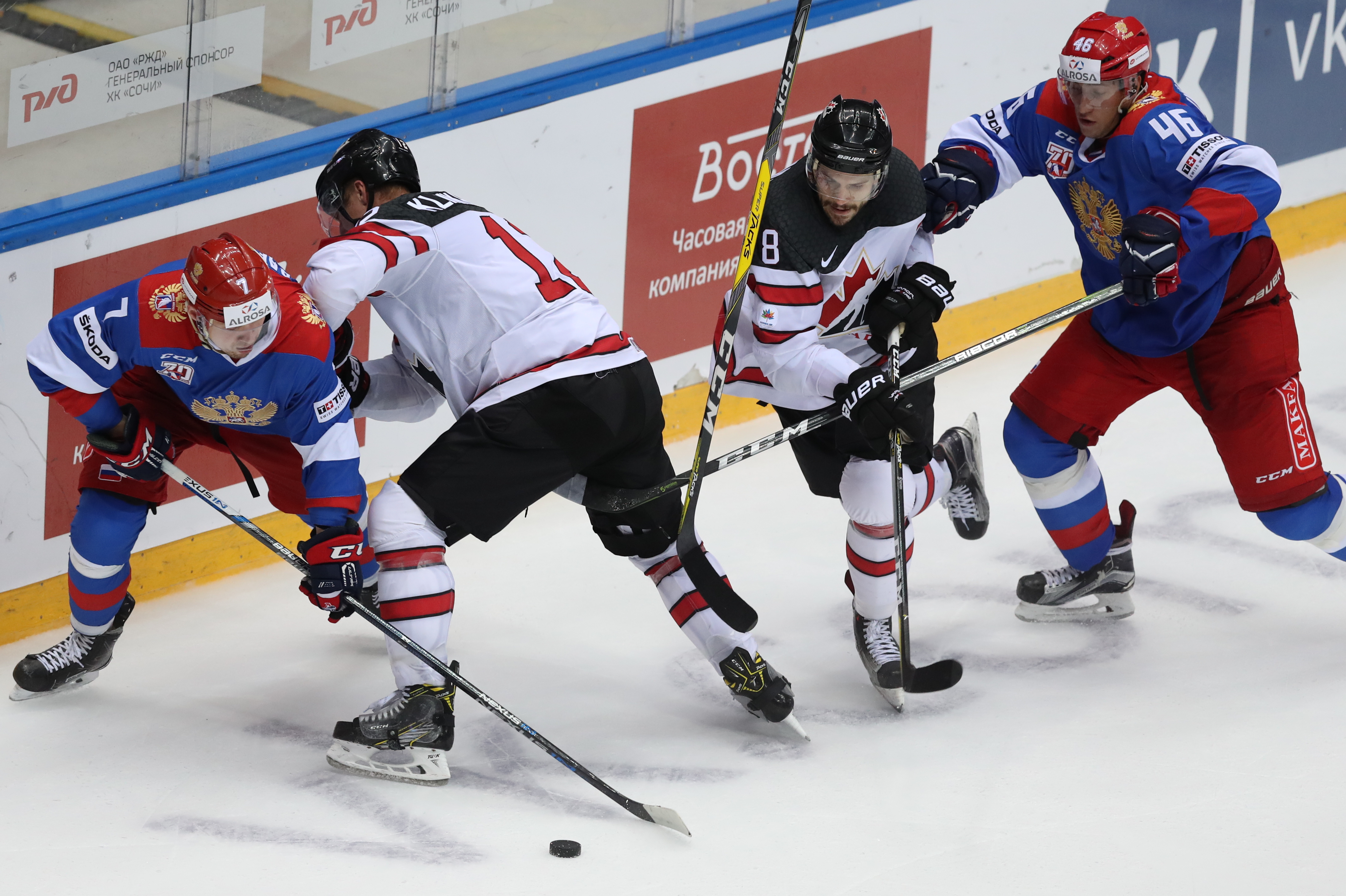 Sochi Hockey Open 2017: Russian Olympic team vs Canada