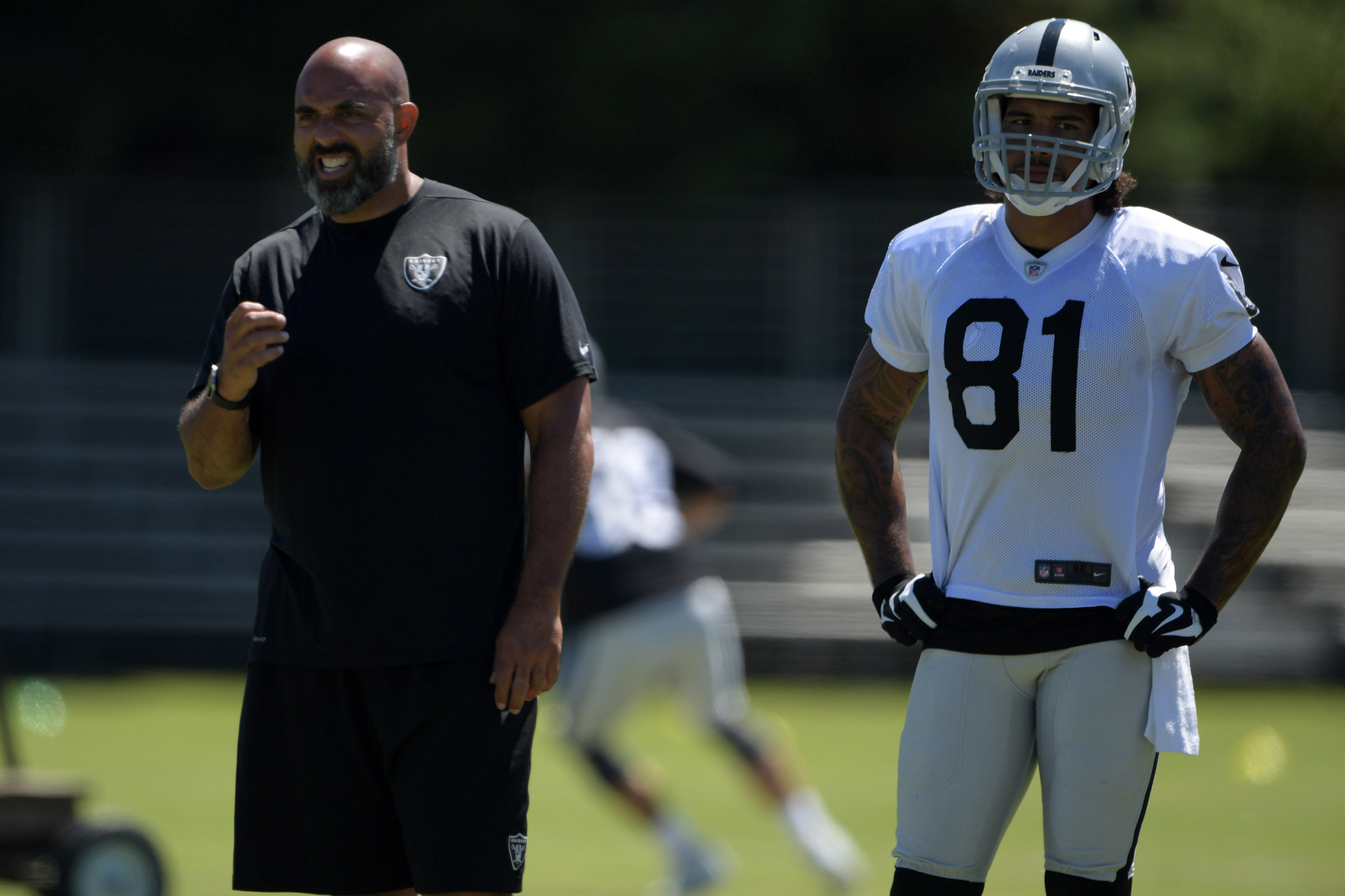 NFL: Oakland Raiders-Training Camp