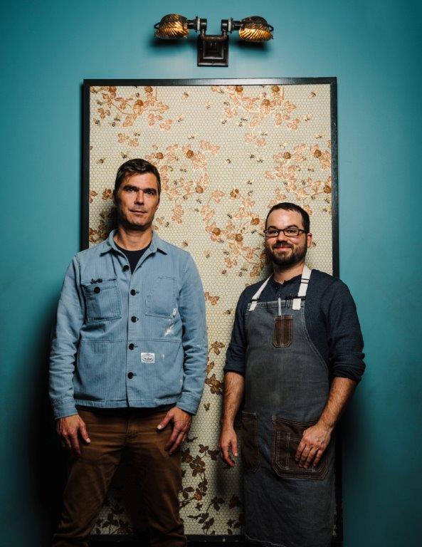Chefs Hugh Acheson and Alex Bolduc