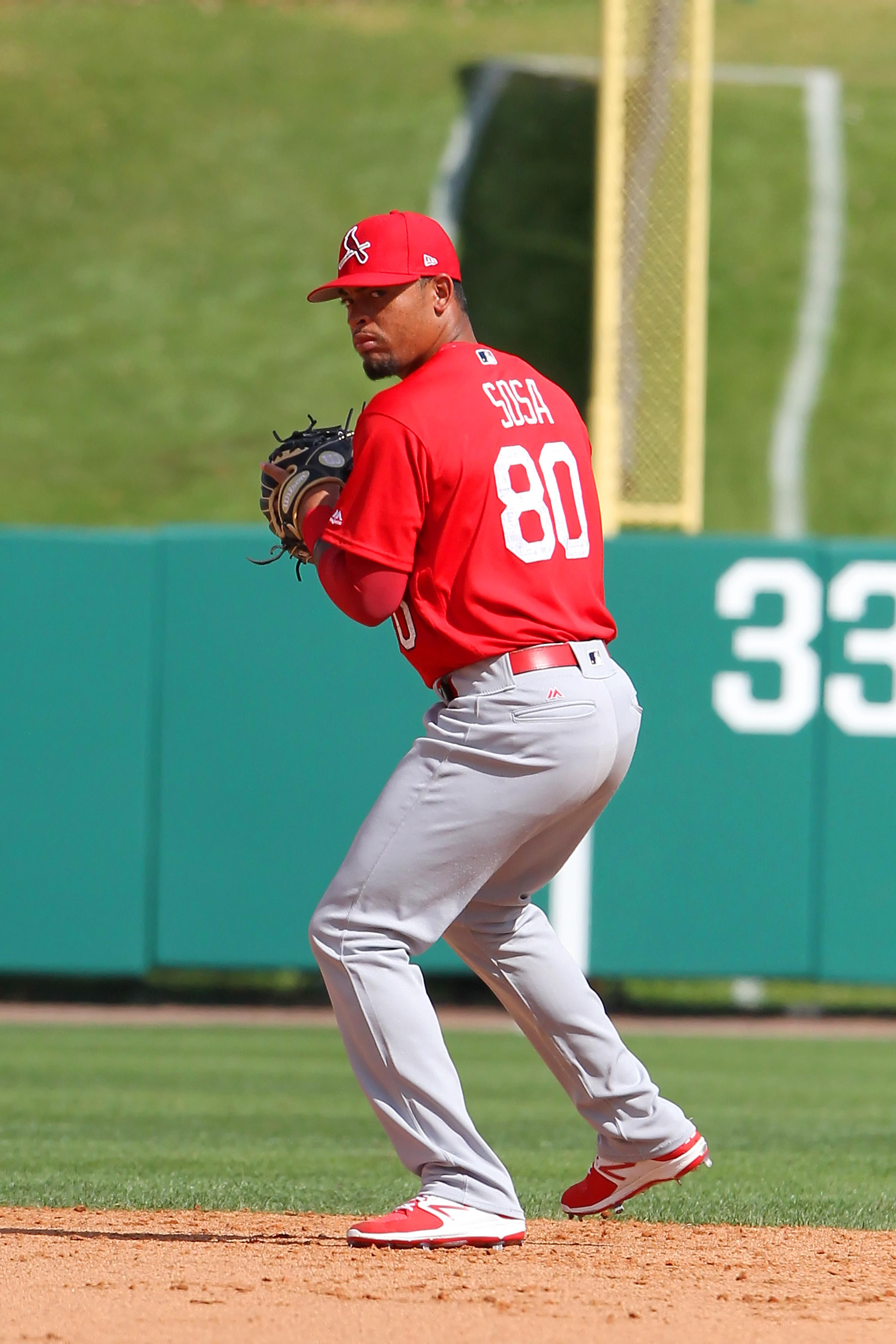MLB: FEB 28 Spring Training - Cardinals at Braves