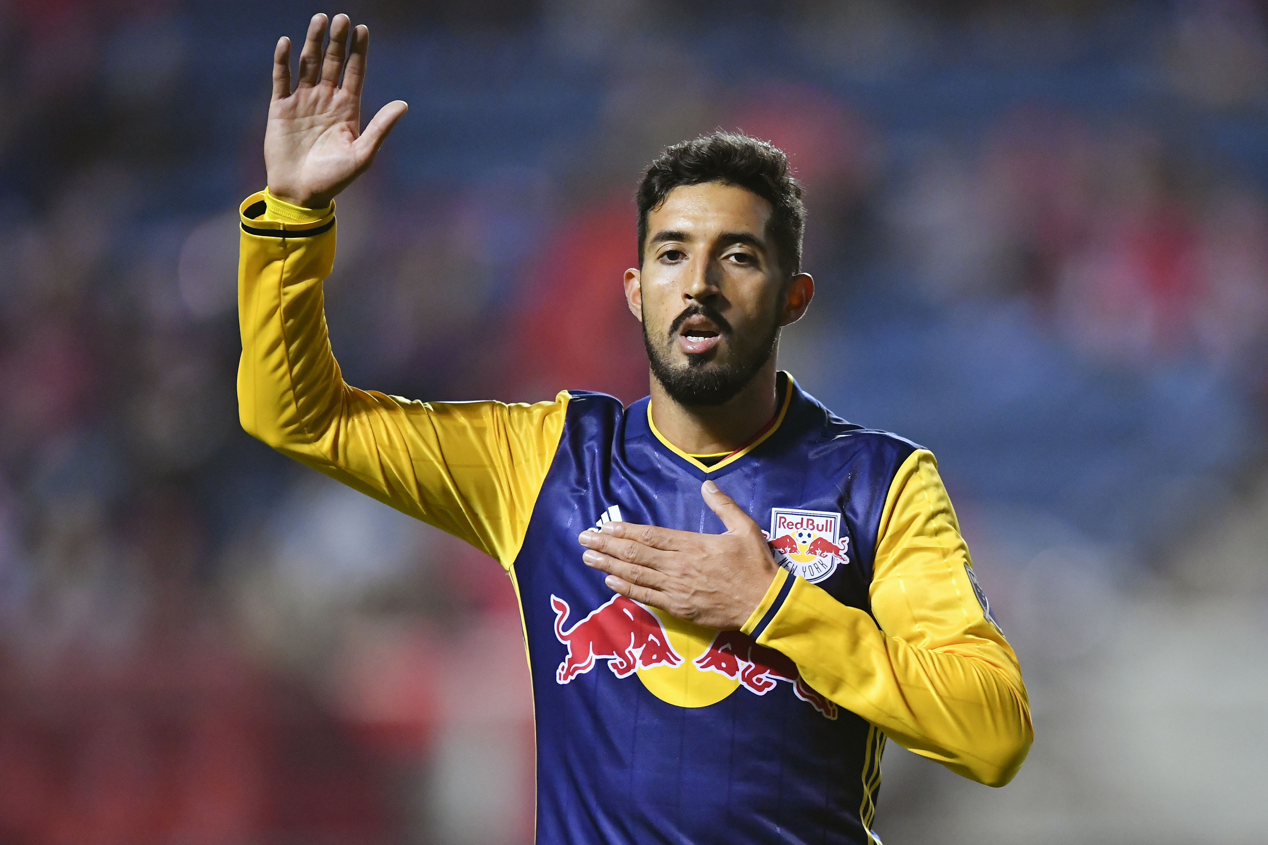 SOCCER: OCT 25 MLS Cup Playoffs - NY Red Bulls at Chicago Fire