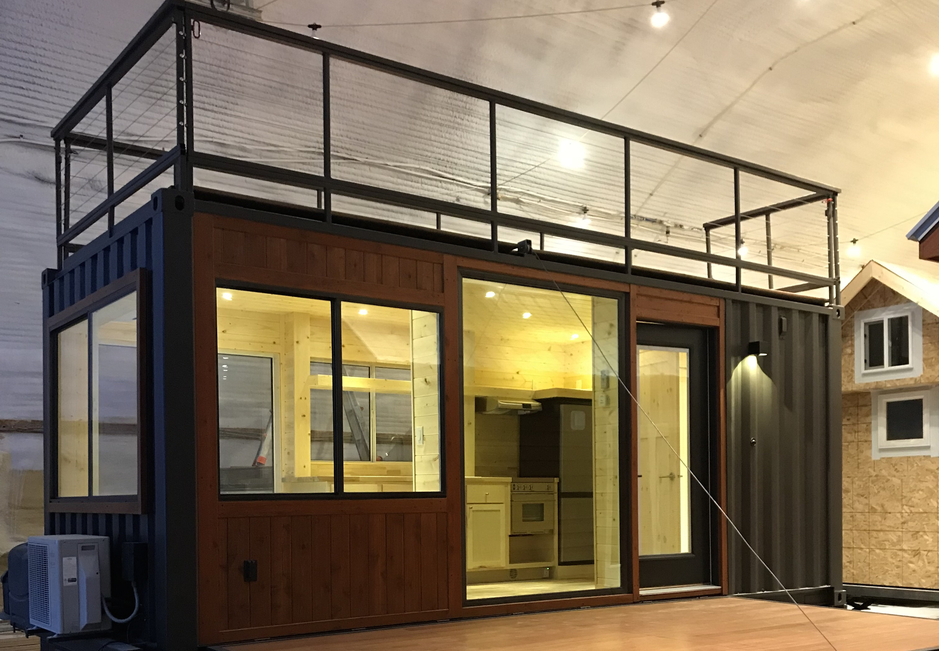 Major Tiny House Builder Unveils A Shipping Container Model